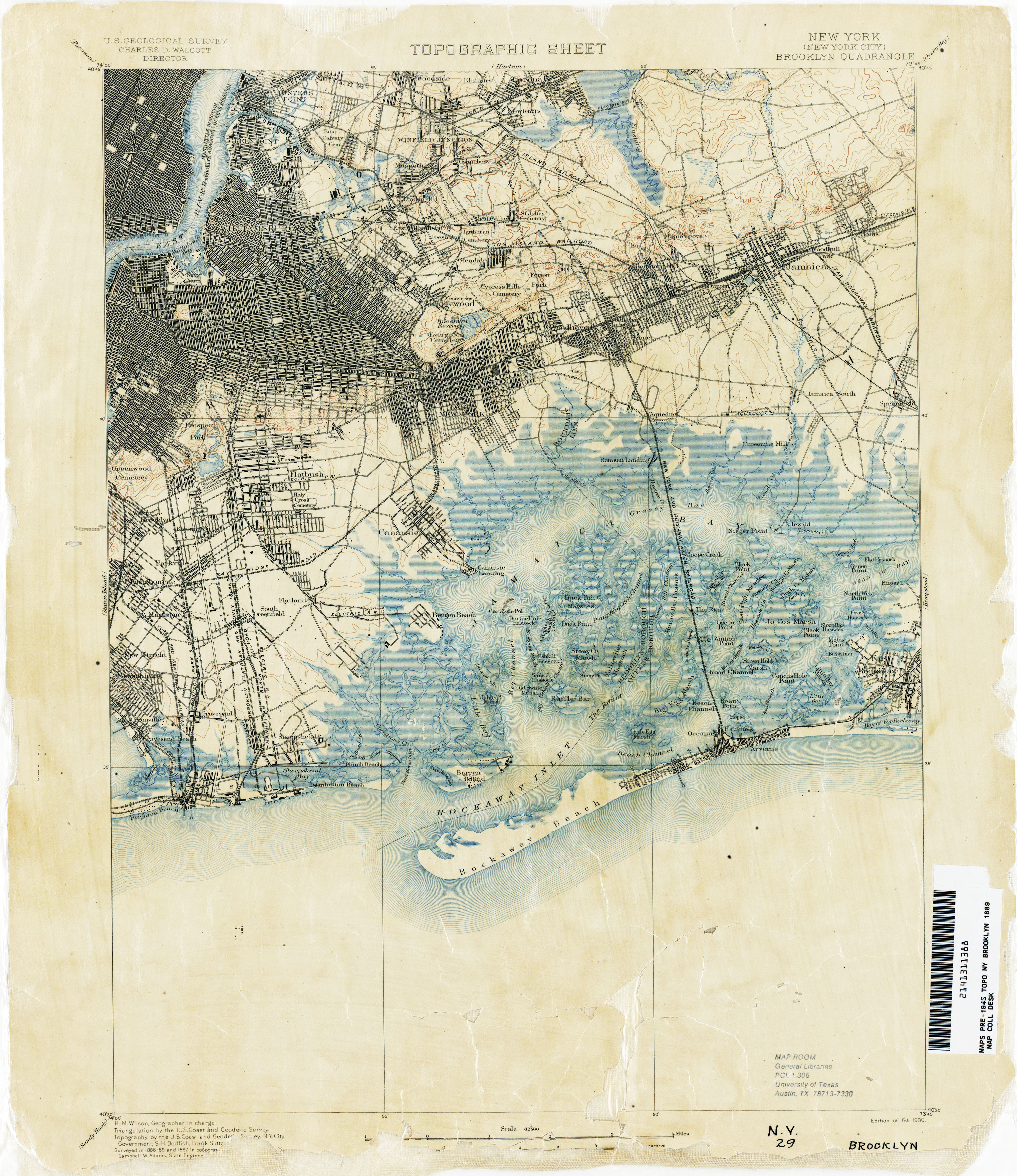 New York Topographic Maps PerryCastañeda Map Collection UT - New york city map 1950