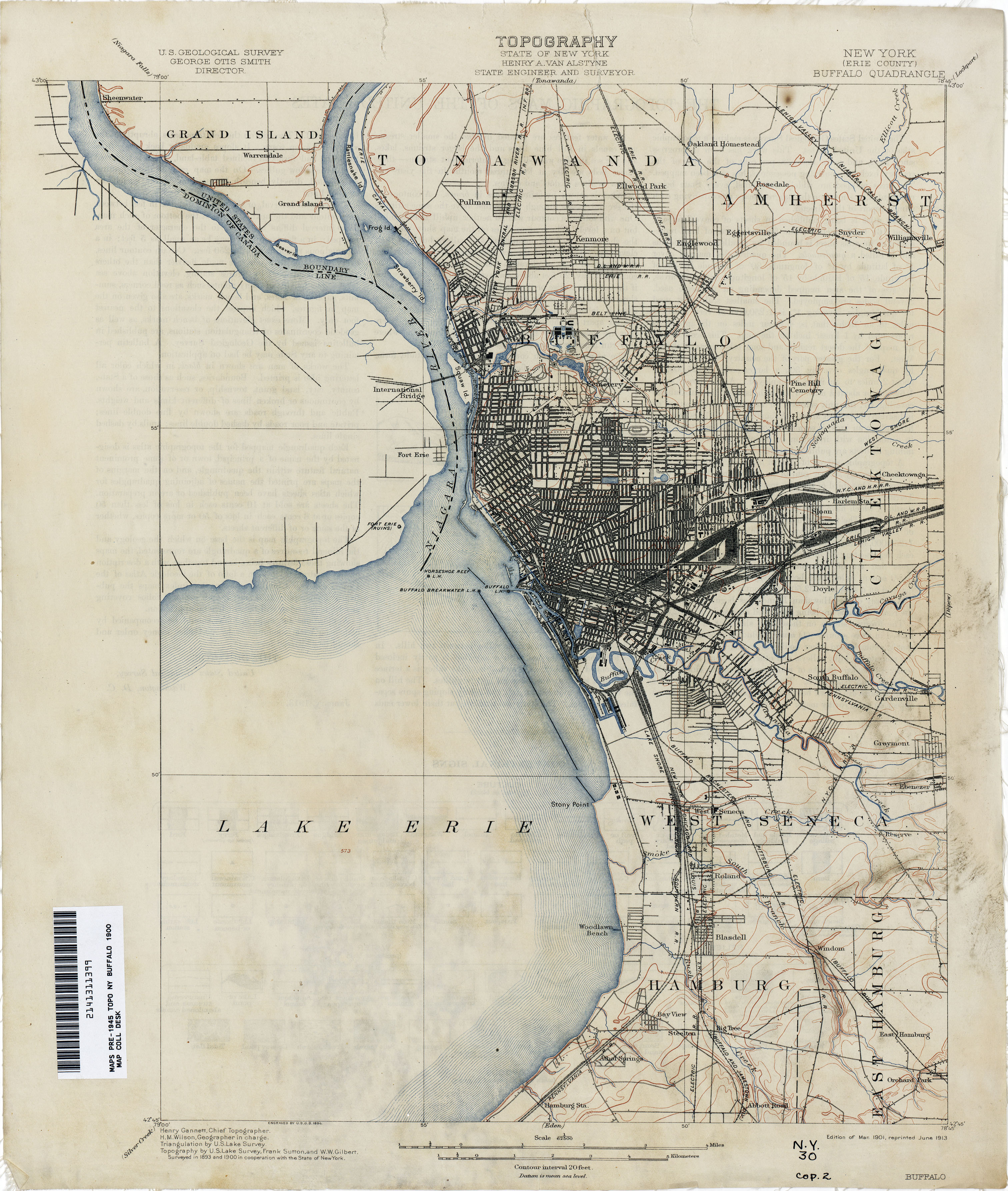 New York Topographic Maps PerryCastañeda Map Collection UT - Map ny