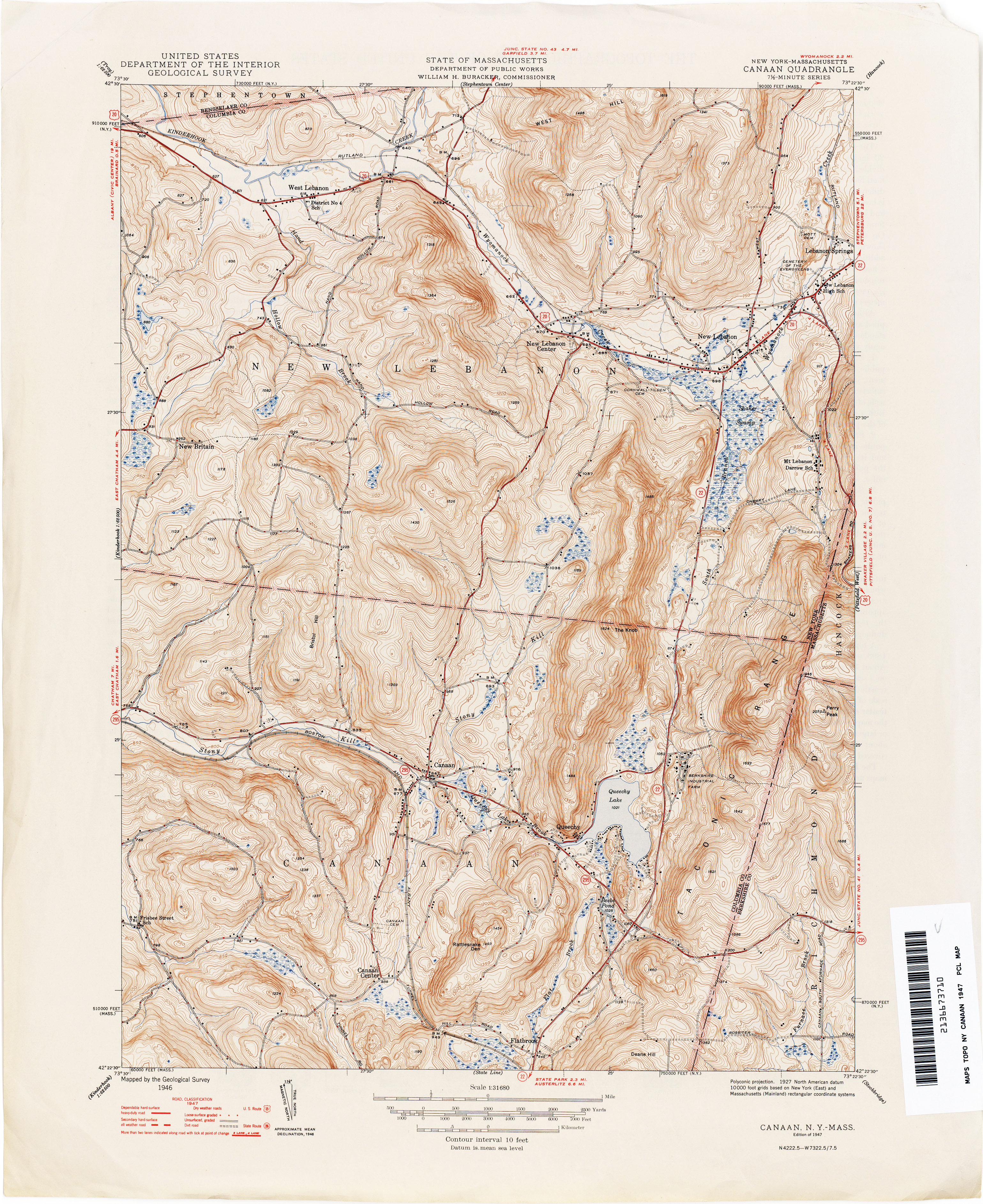 New York Topographic Maps PerryCastañeda Map Collection UT - Us map new york
