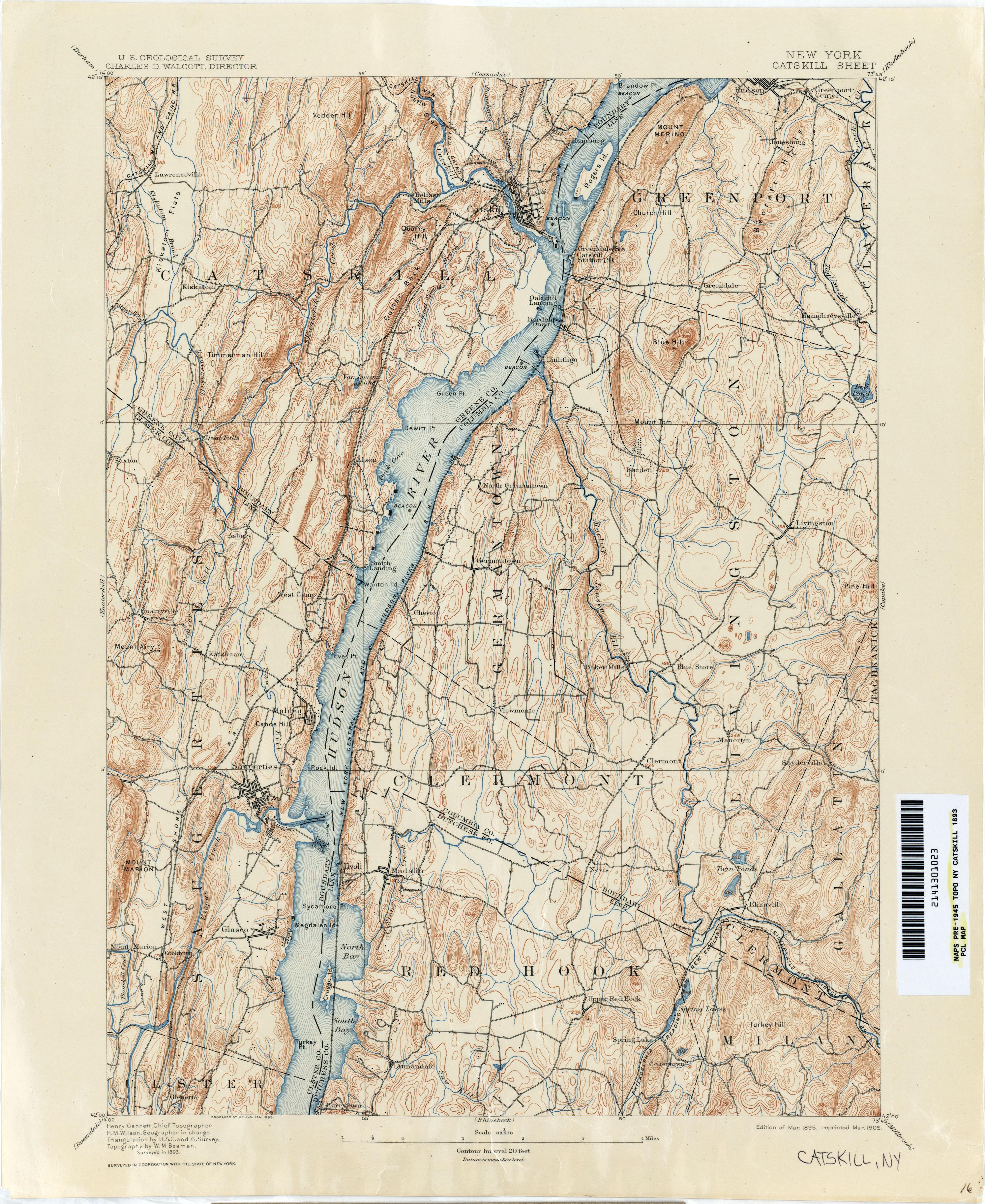 Durham Ny Map on