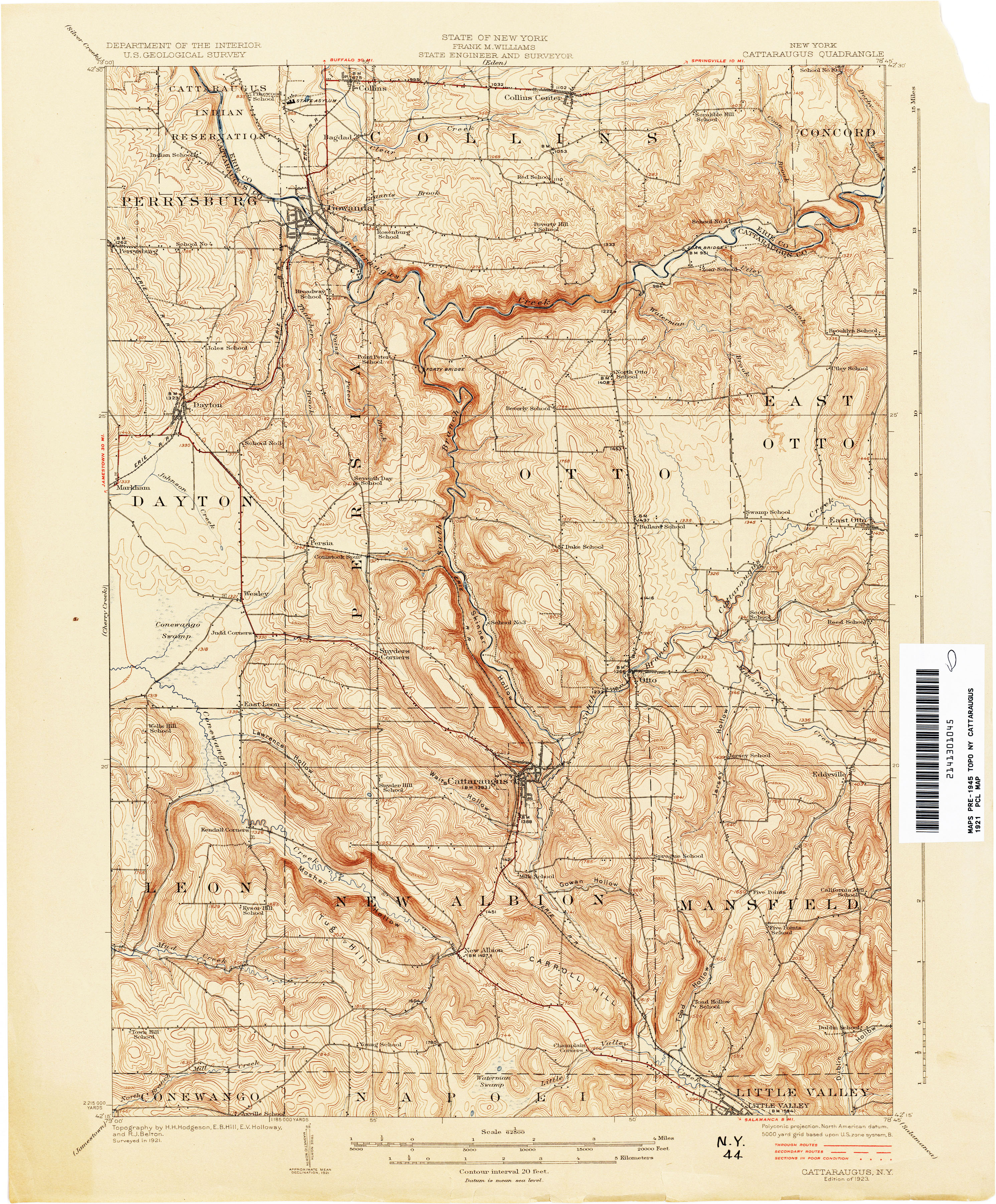 New York Topographic Maps PerryCastañeda Map Collection UT - Map ot the us