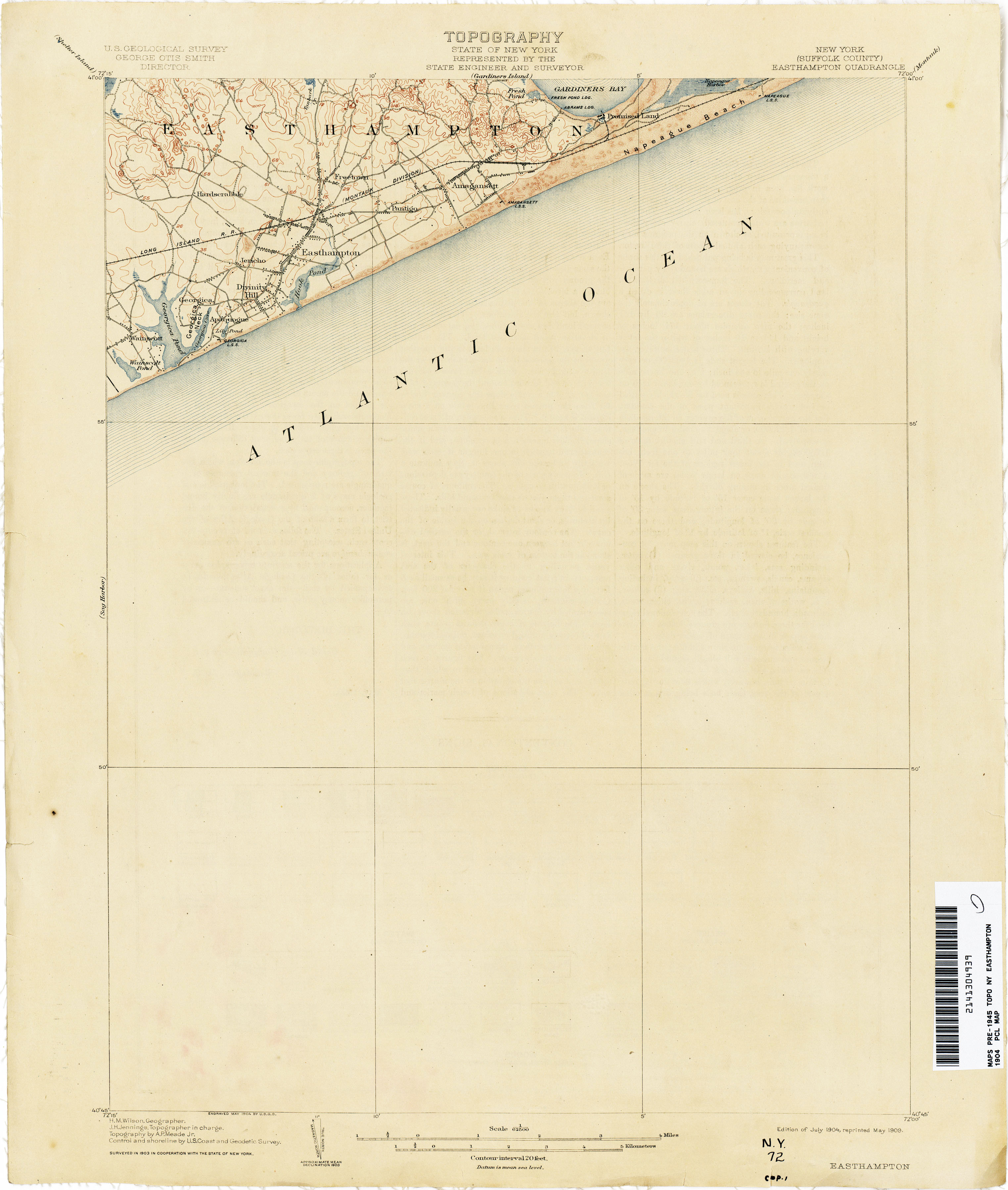 New York Topographic Maps  PerryCastaeda Map Collection  UT
