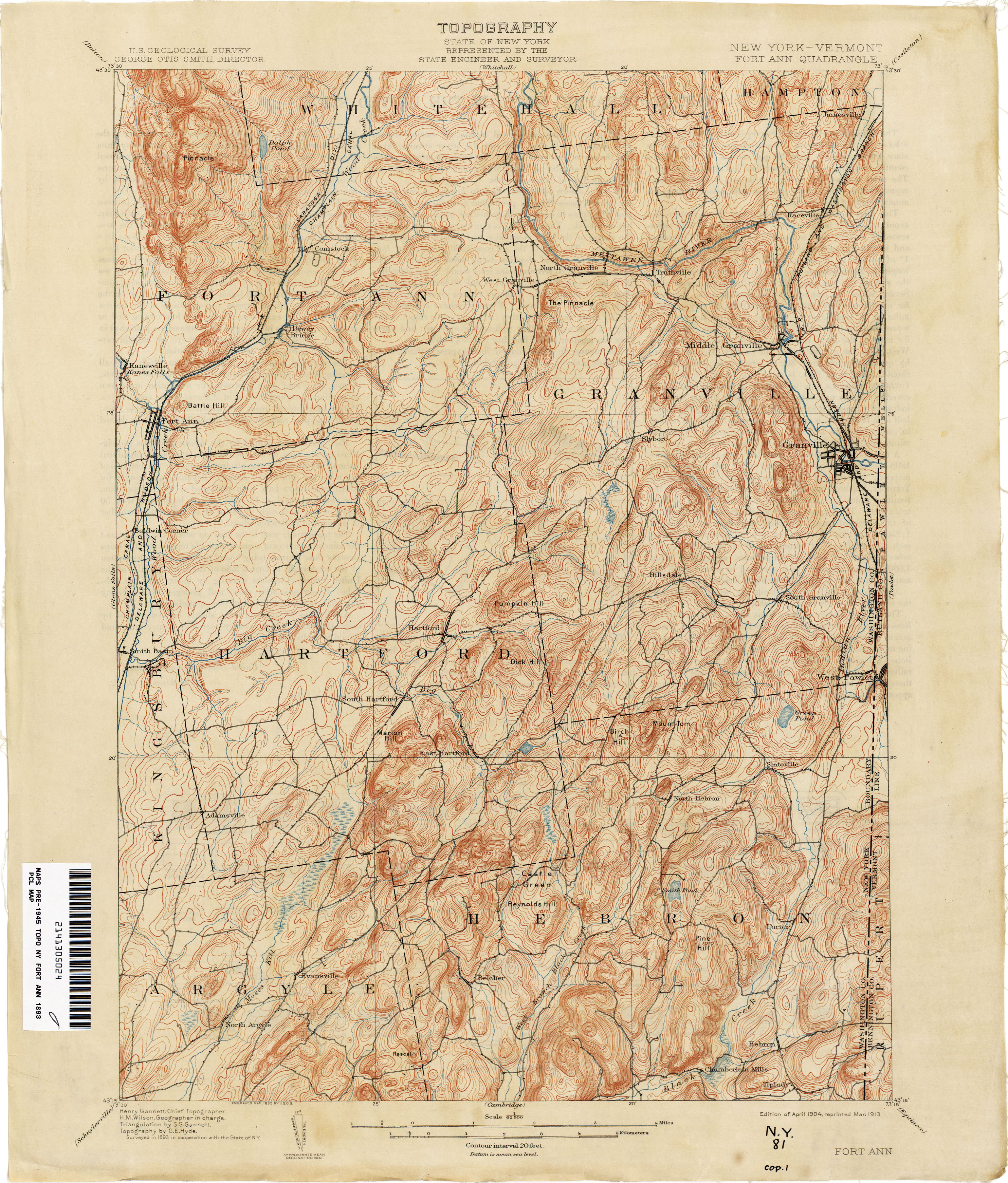 Vermont Historical Topographic Maps Perry Castaneda Map Collection