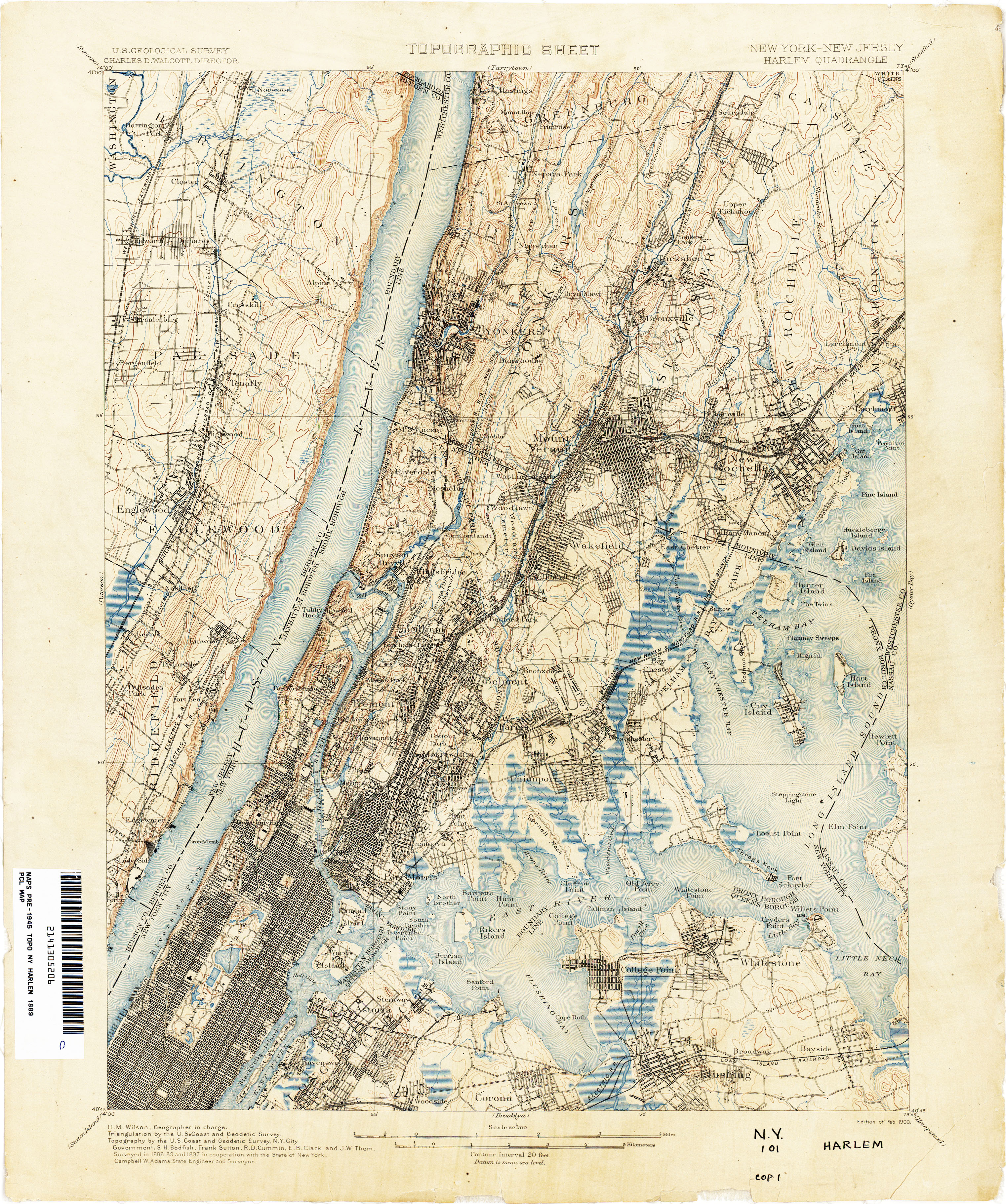 New Jersey Topographic Maps - Perry-Castañeda Map Collection - UT ...