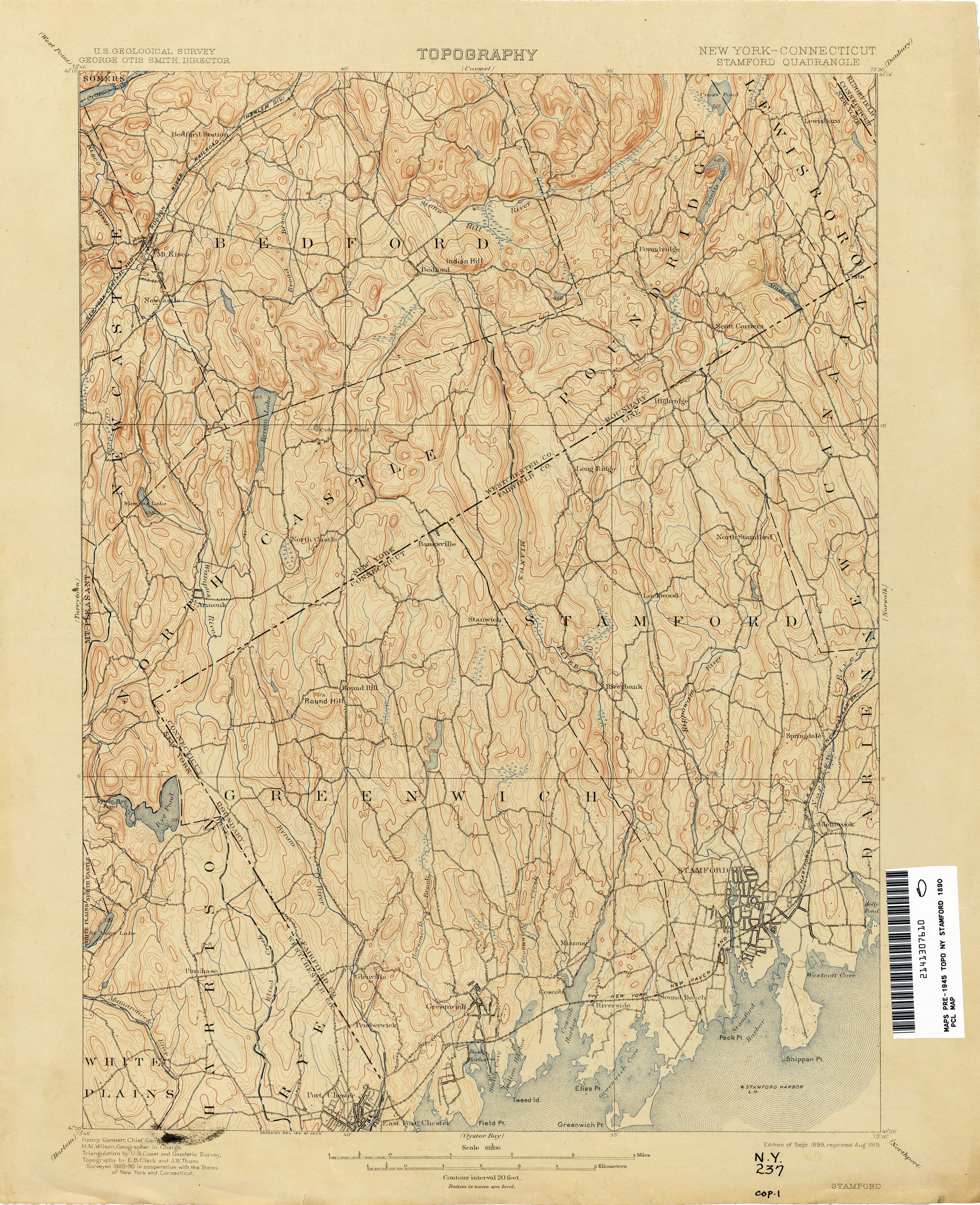Connecticut Historical Topographic Maps Perry Castaneda Map