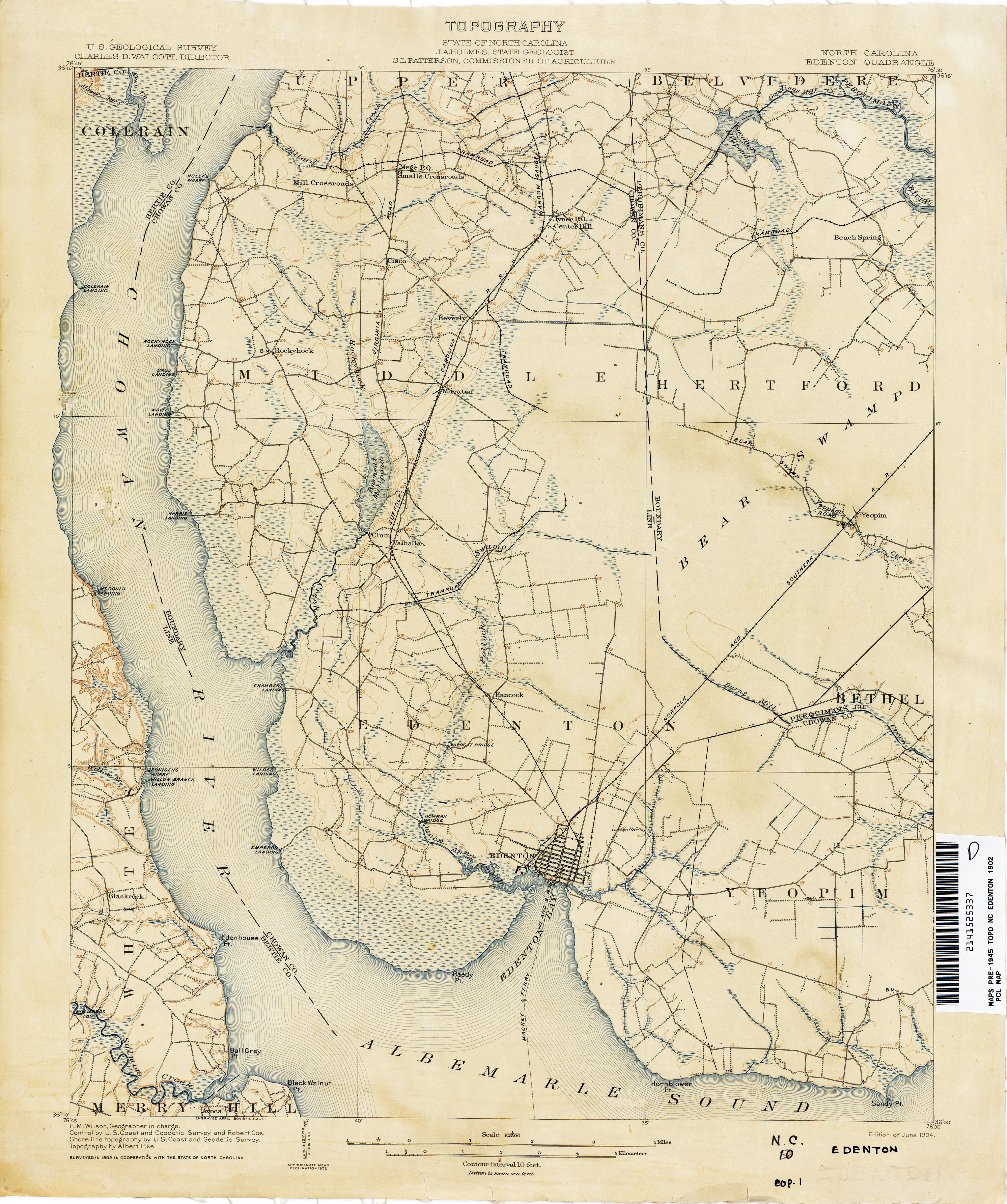North Carolina Historical Topographic Maps - Perry-Castañeda Map ...
