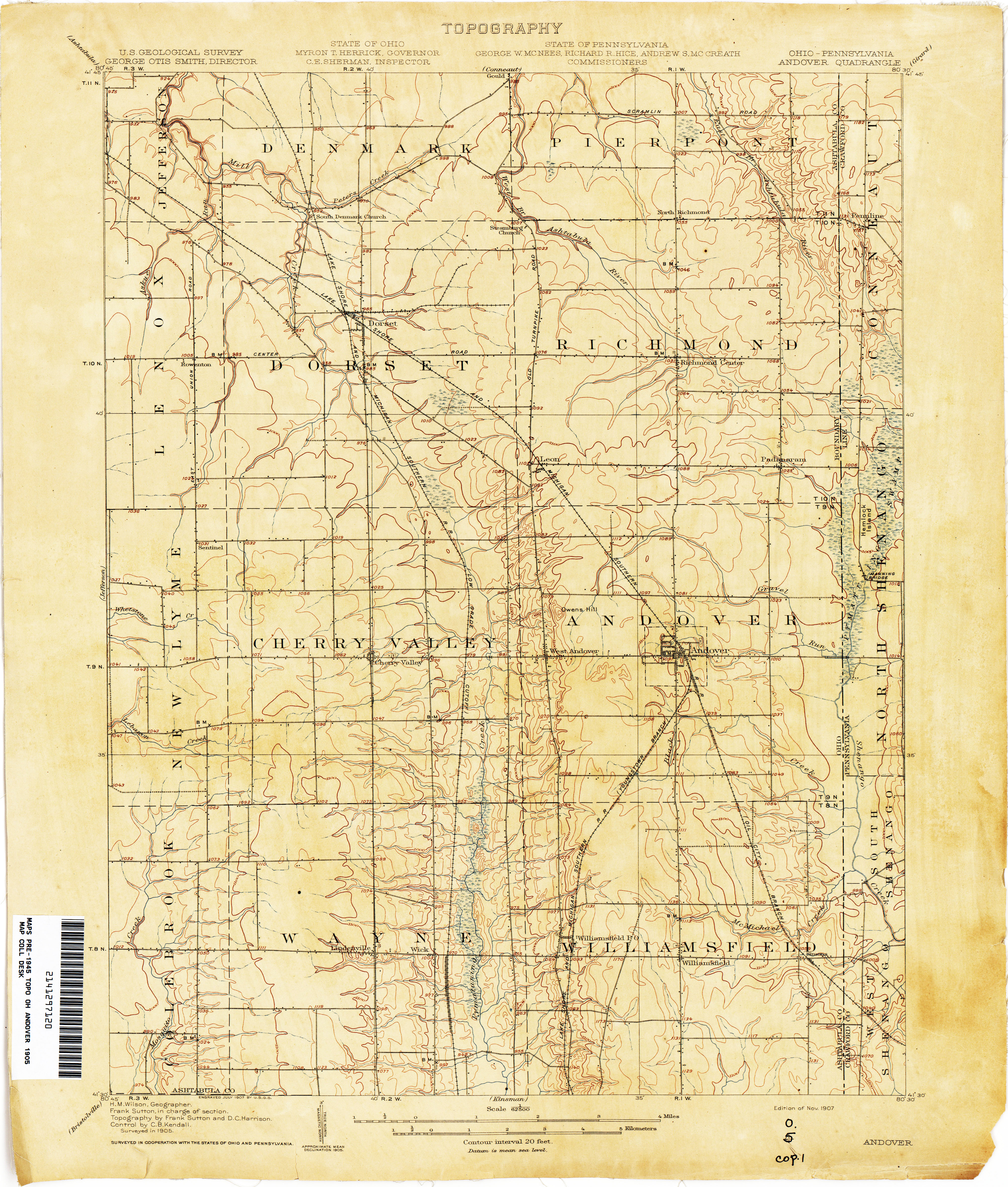 Ohio Historical Topographic Maps - Perry-Castañeda Map ... on map of route 322 pennsylvania, map of pennsylvania with cities, map of southern pennsylvania, map of route 30 pennsylvania, map of route 78 pennsylvania, map of route 80 pennsylvania,