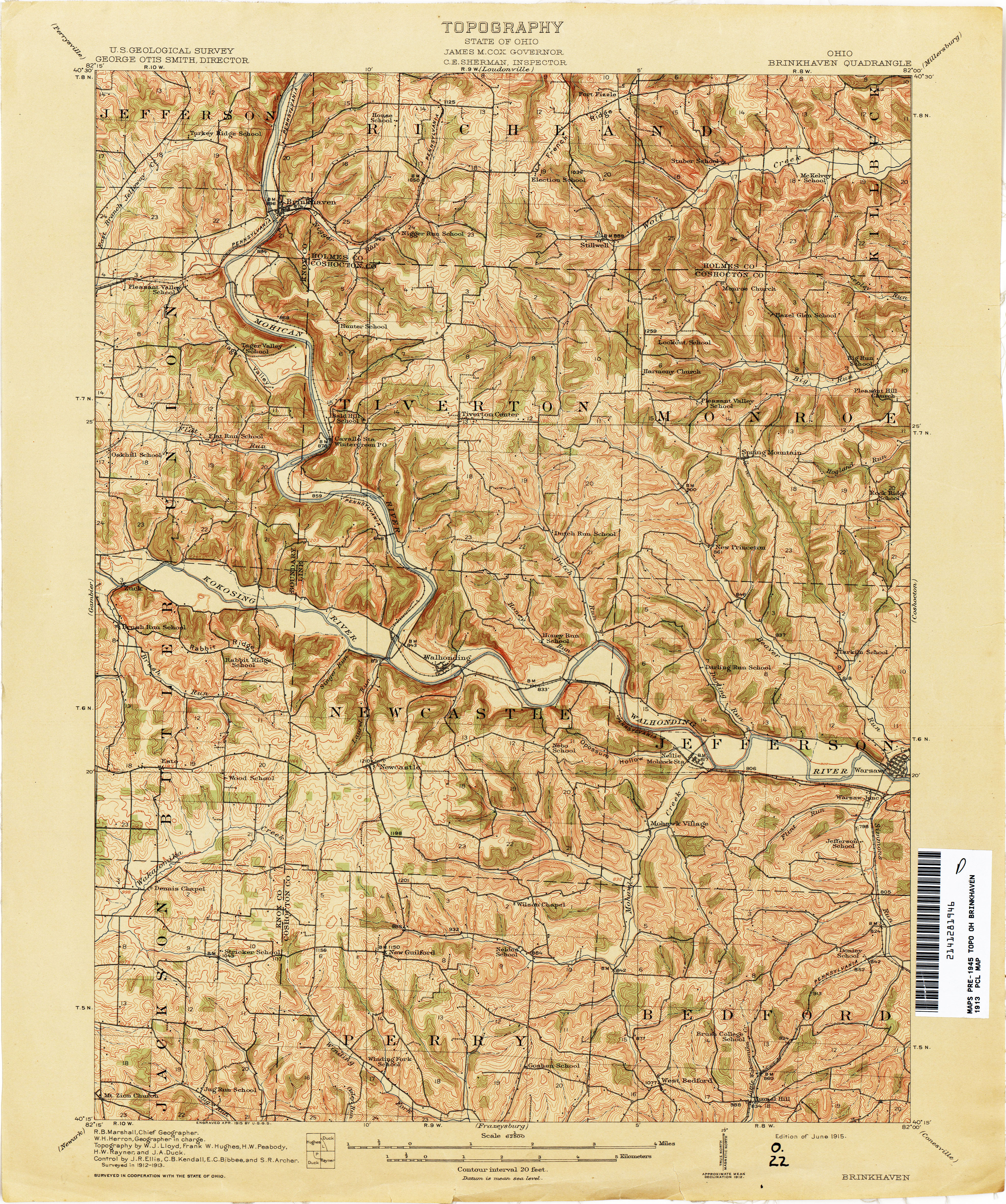 Perrysville Ohio Map.Ohio Historical Topographic Maps Perry Castaneda Map Collection