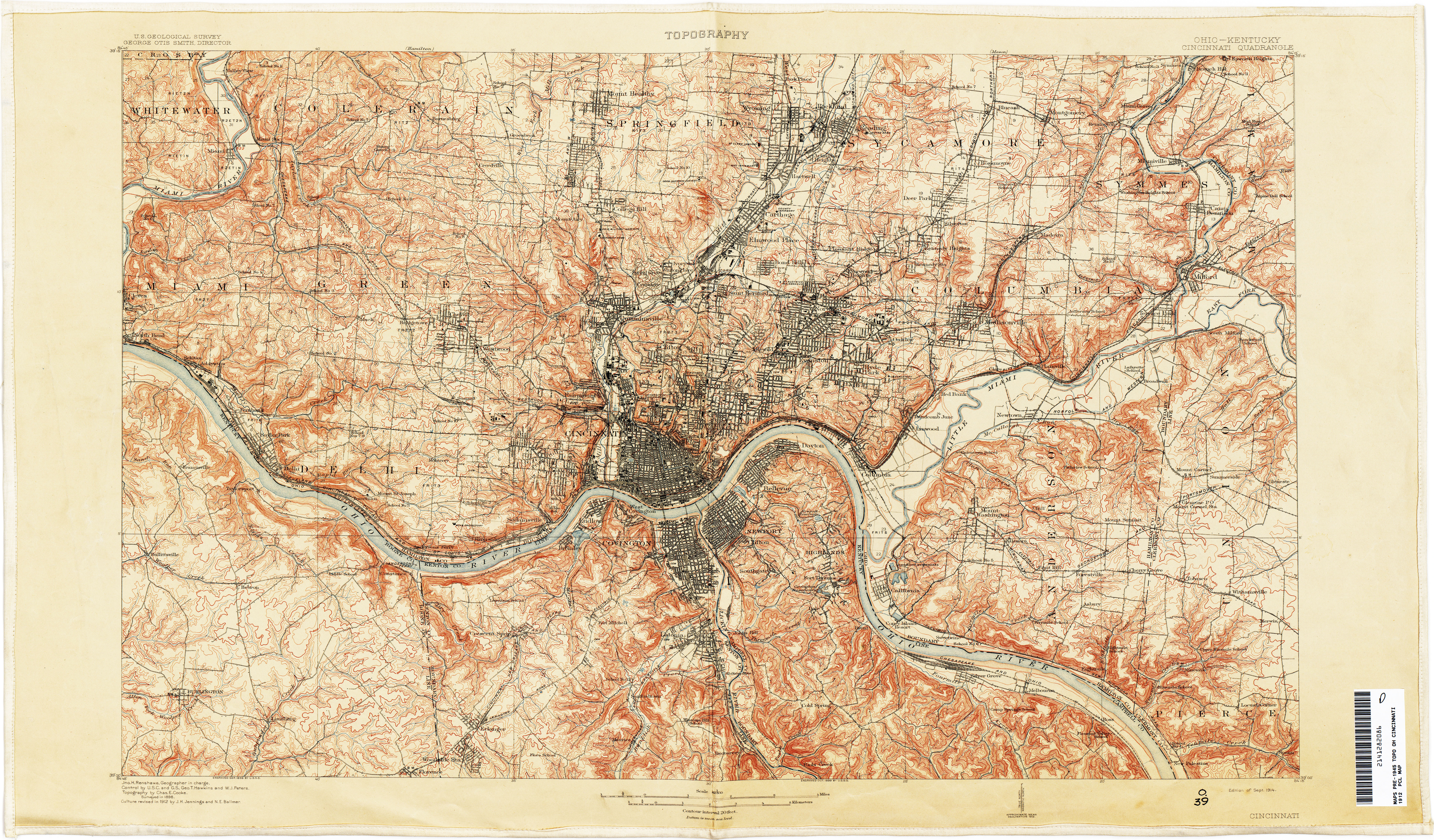 Pennsylvania Historical Topographic Maps - Perry-Castañeda Map ...