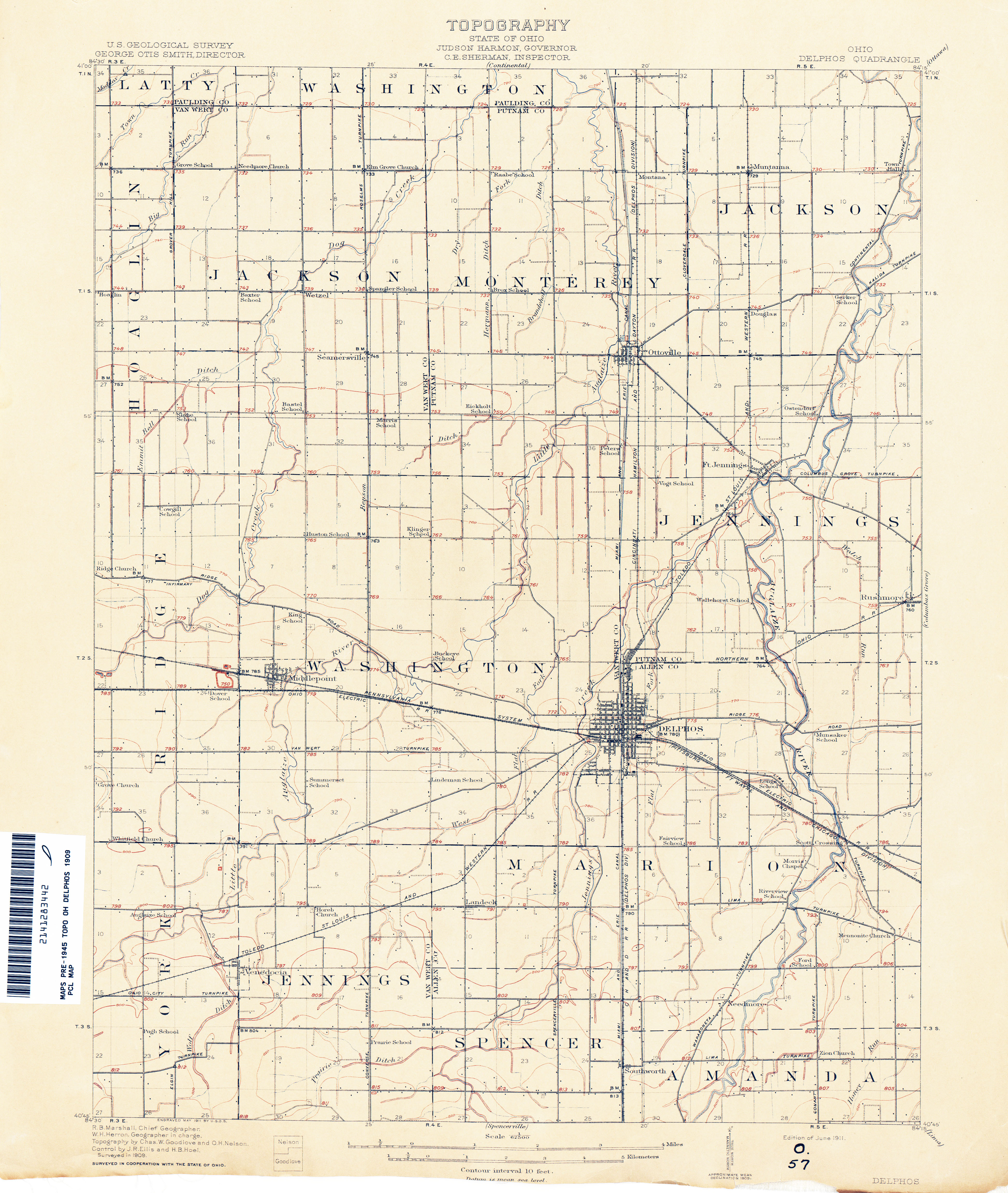 Ohio Historical Topographic Maps - Perry-Castañeda Map ... on map of chesterland, map of chanute, map of fairborn, map of geneva on the lake, map of auglaize county, map of west carrollton, map of grandview heights, map of elyria, map of tiffin, map of canal fulton, map of celina, map of elgin, map of piqua, map of huber heights, map of chicago heights, map of holgate, map of canal winchester, map of oak hill, map of lima, map of wauseon,