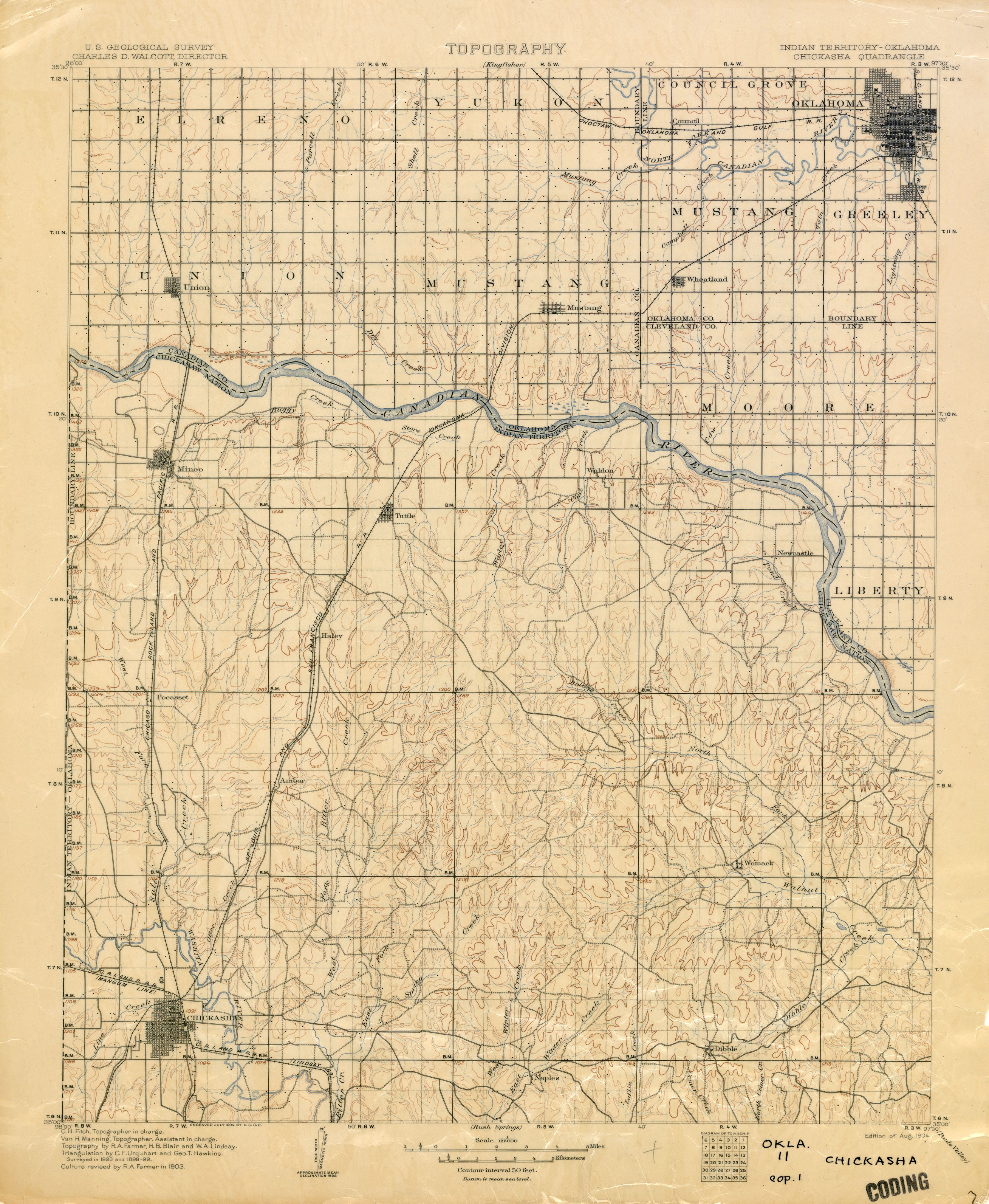 Mountains In Oklahoma Map.Oklahoma Historical Topographic Maps Perry Castaneda Map