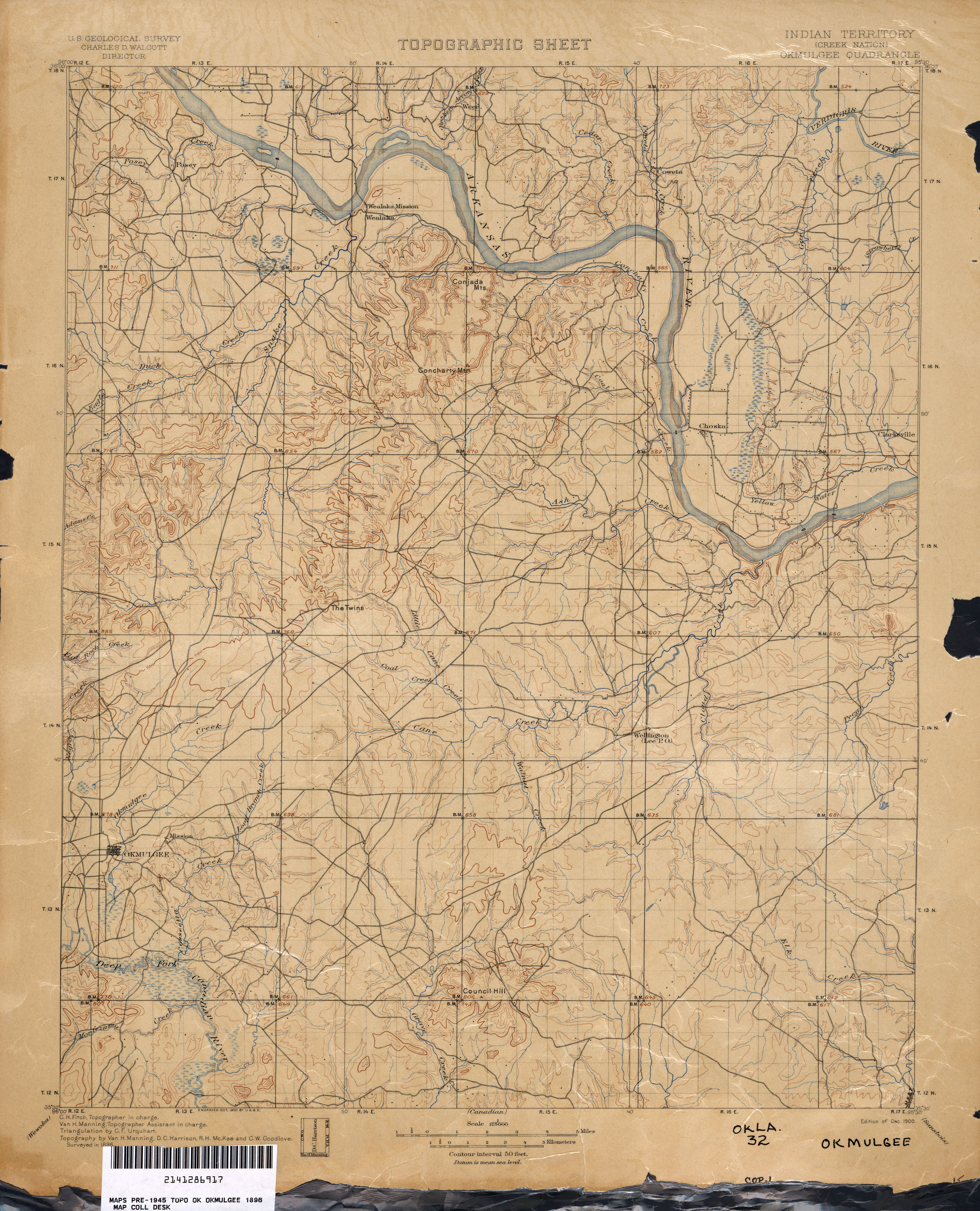 Oklahoma Historical Topographic Maps - Perry-Castañeda Map ... on
