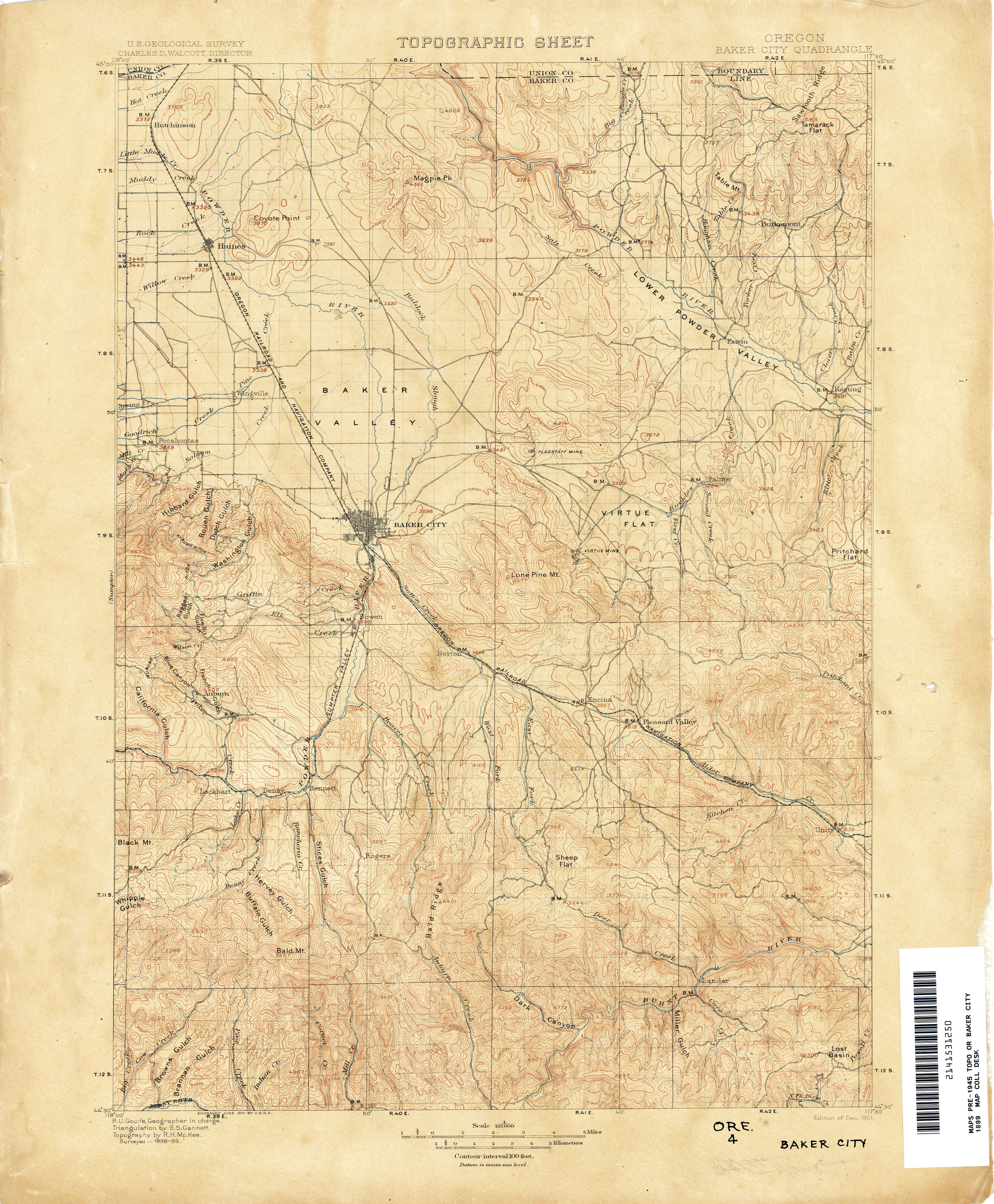 Oregon Historical Topographic Maps PerryCastañeda Map - City map of oregon