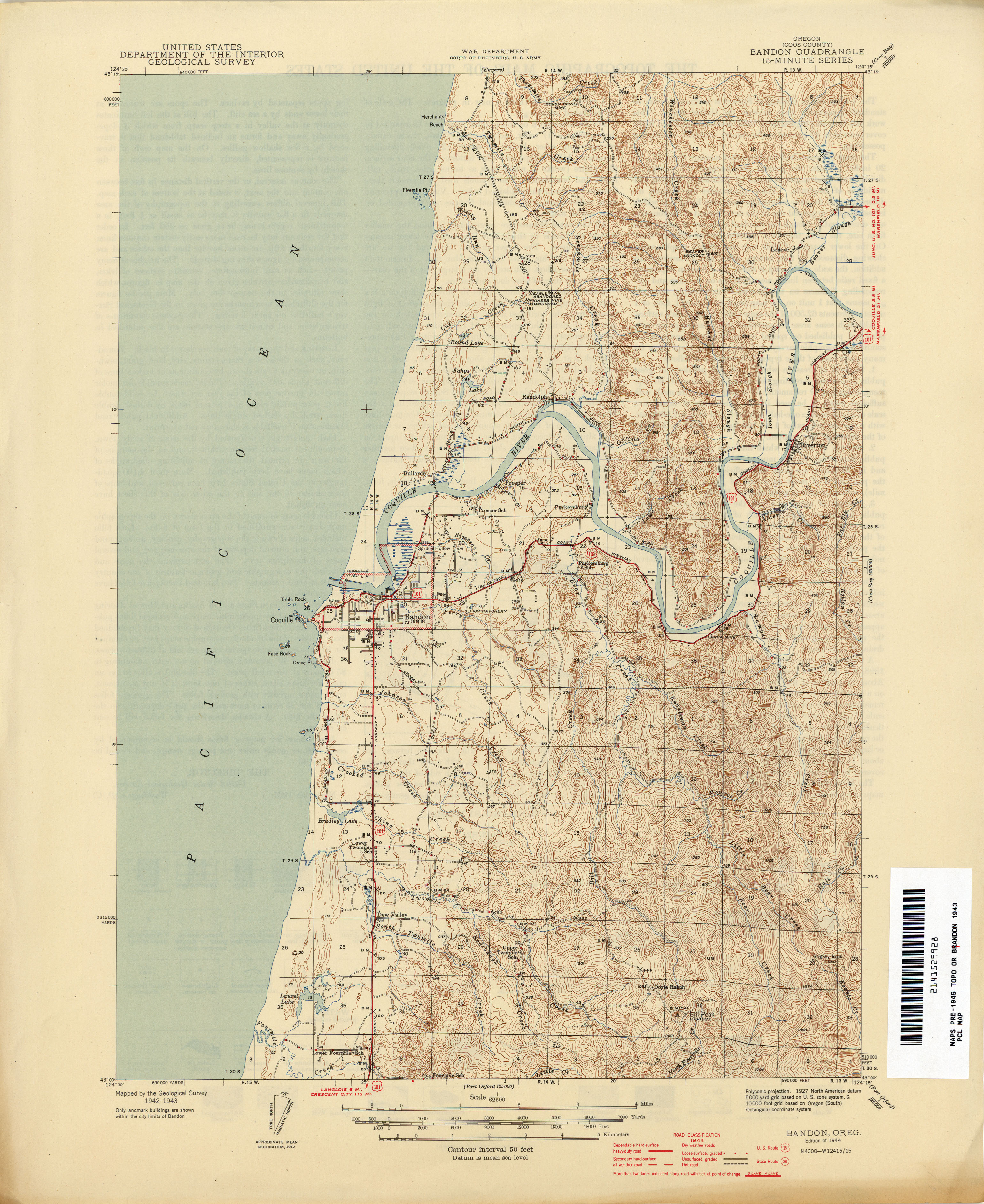 Oregon Historical Topographic Maps PerryCastañeda Map - Us geological topographic maps