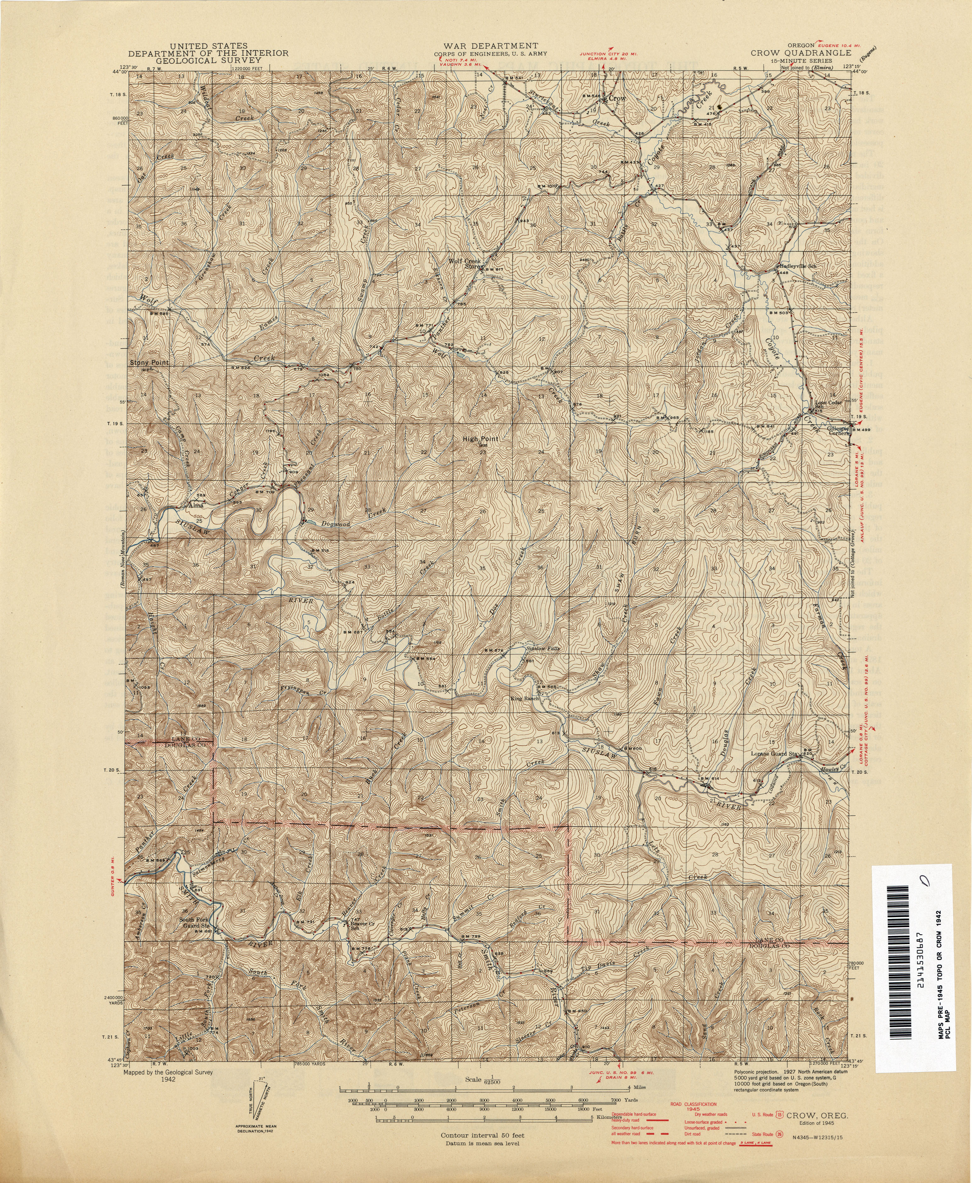 Oregon Historical Topographic Maps