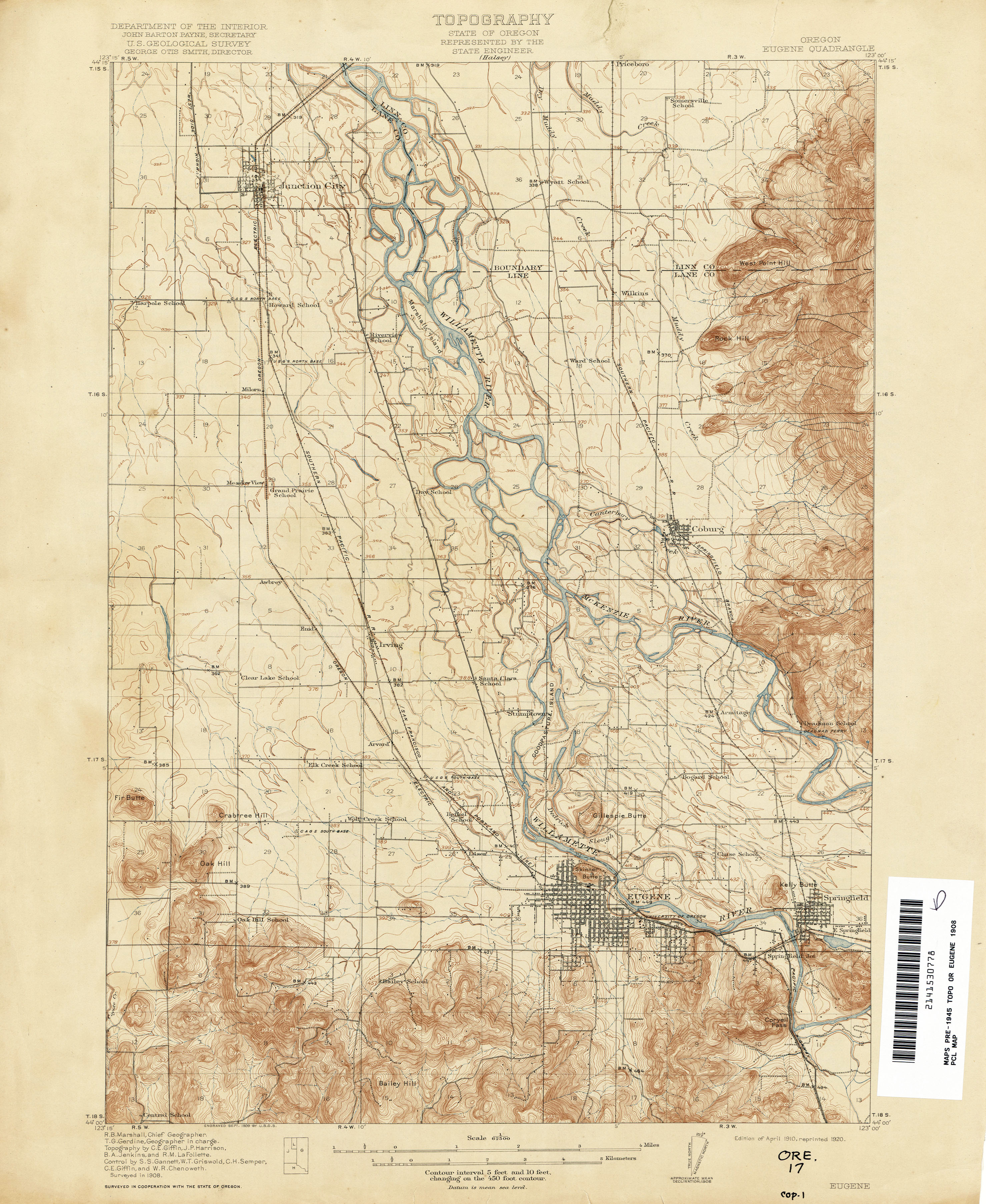 Portland Oregon Topographic Map Oregon Map - Topographical map of oregon
