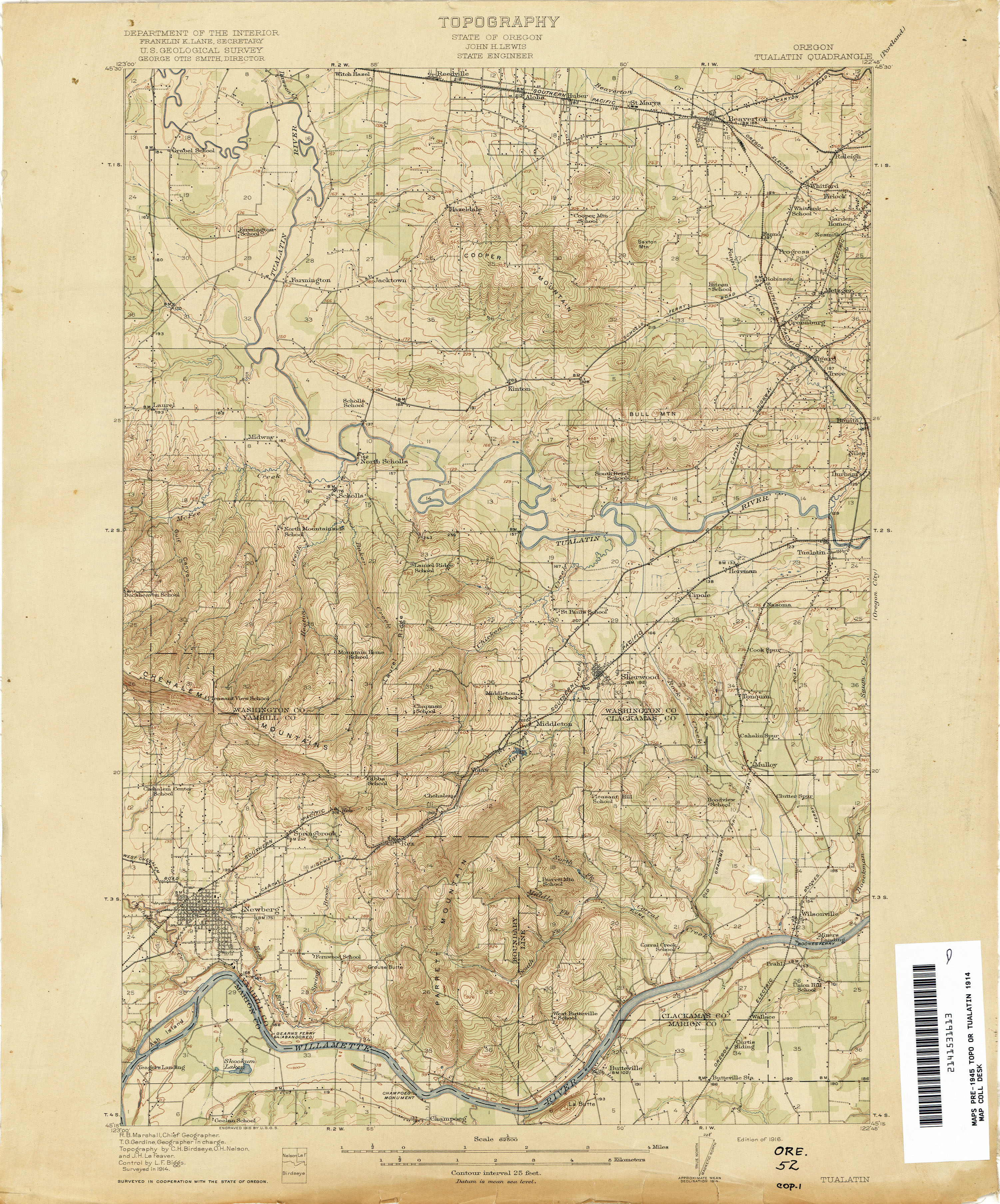 Oregon Historical Topographic Maps PerryCastañeda Map - Topographical map of oregon