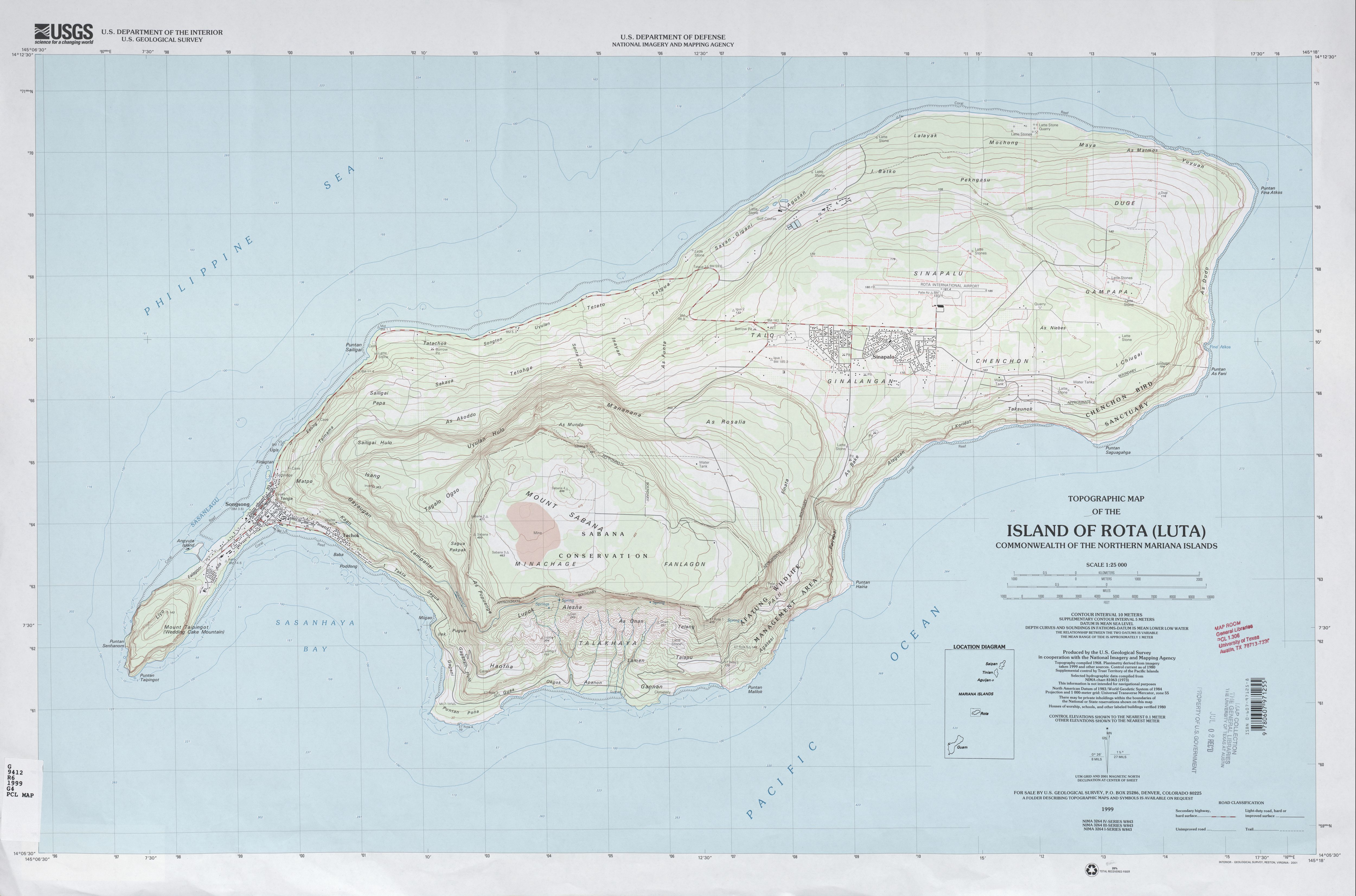 Northern Mariana Islands Maps - Perry-Castañeda Map Collection ...
