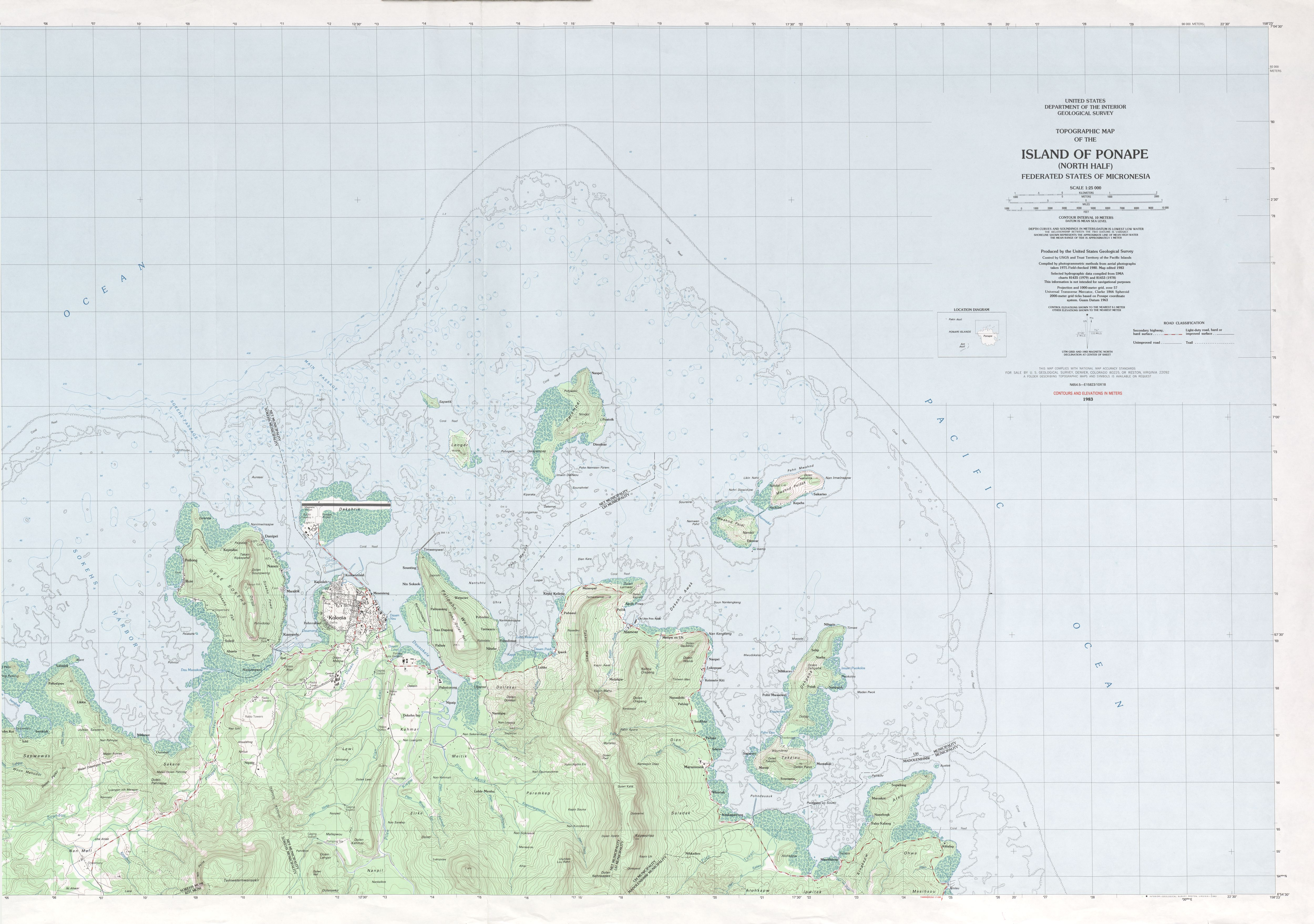 Federated States Of Micronesia Maps