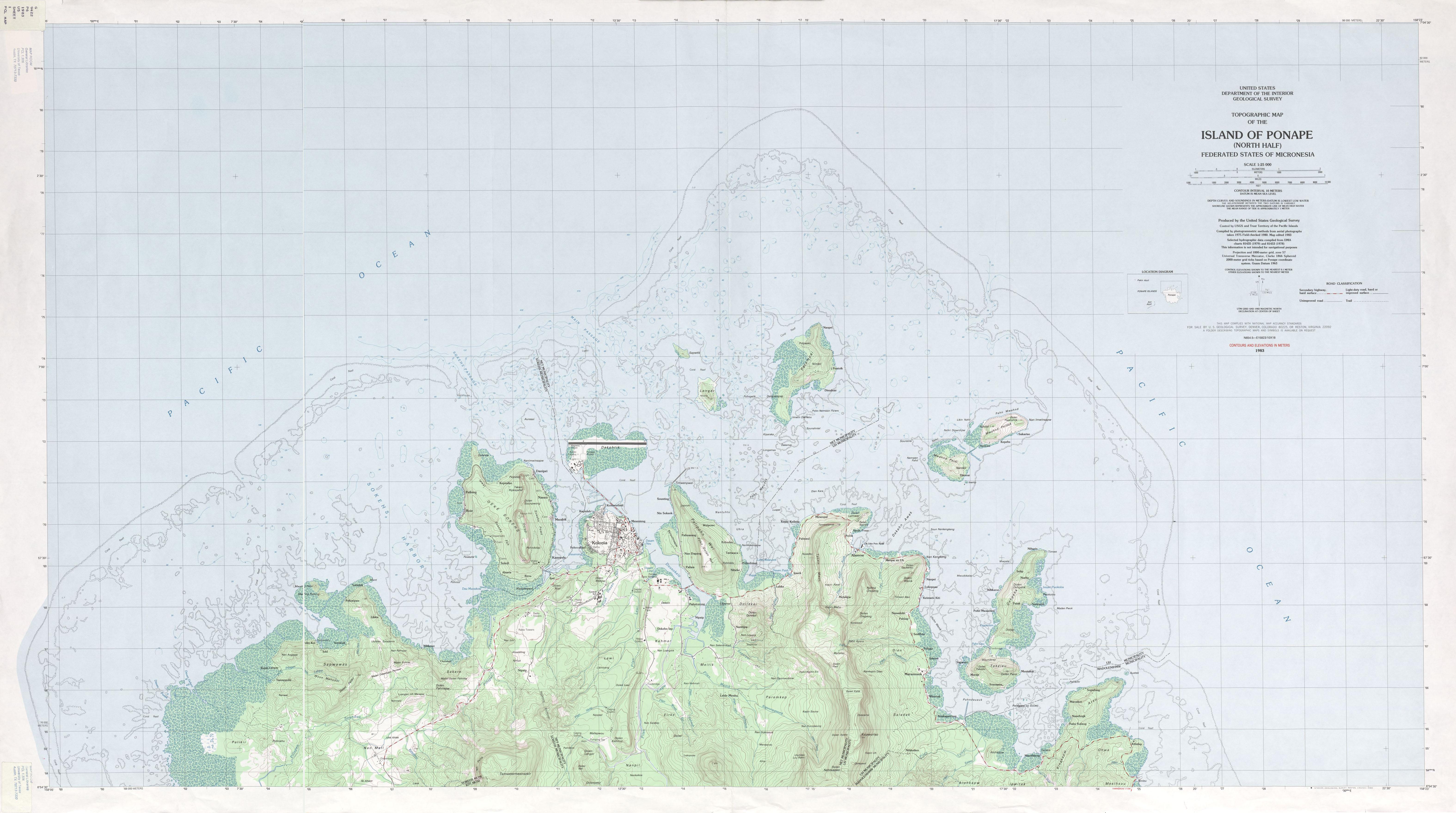 1 25 000 U S Geological Survey 1983 3 3 Mb