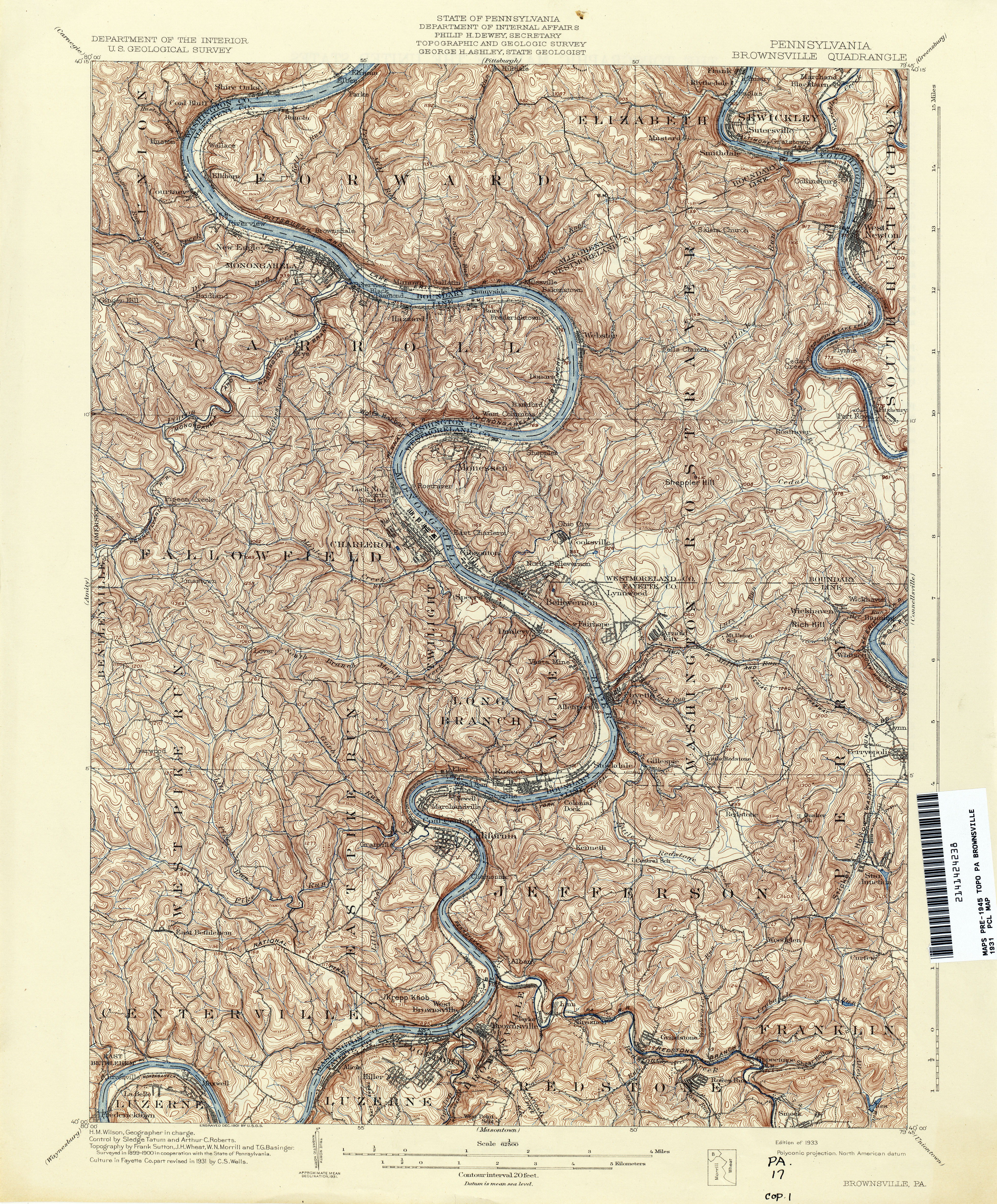 Pennsylvania Historical Topographic Maps PerryCastañeda Map - Topographical map of pa