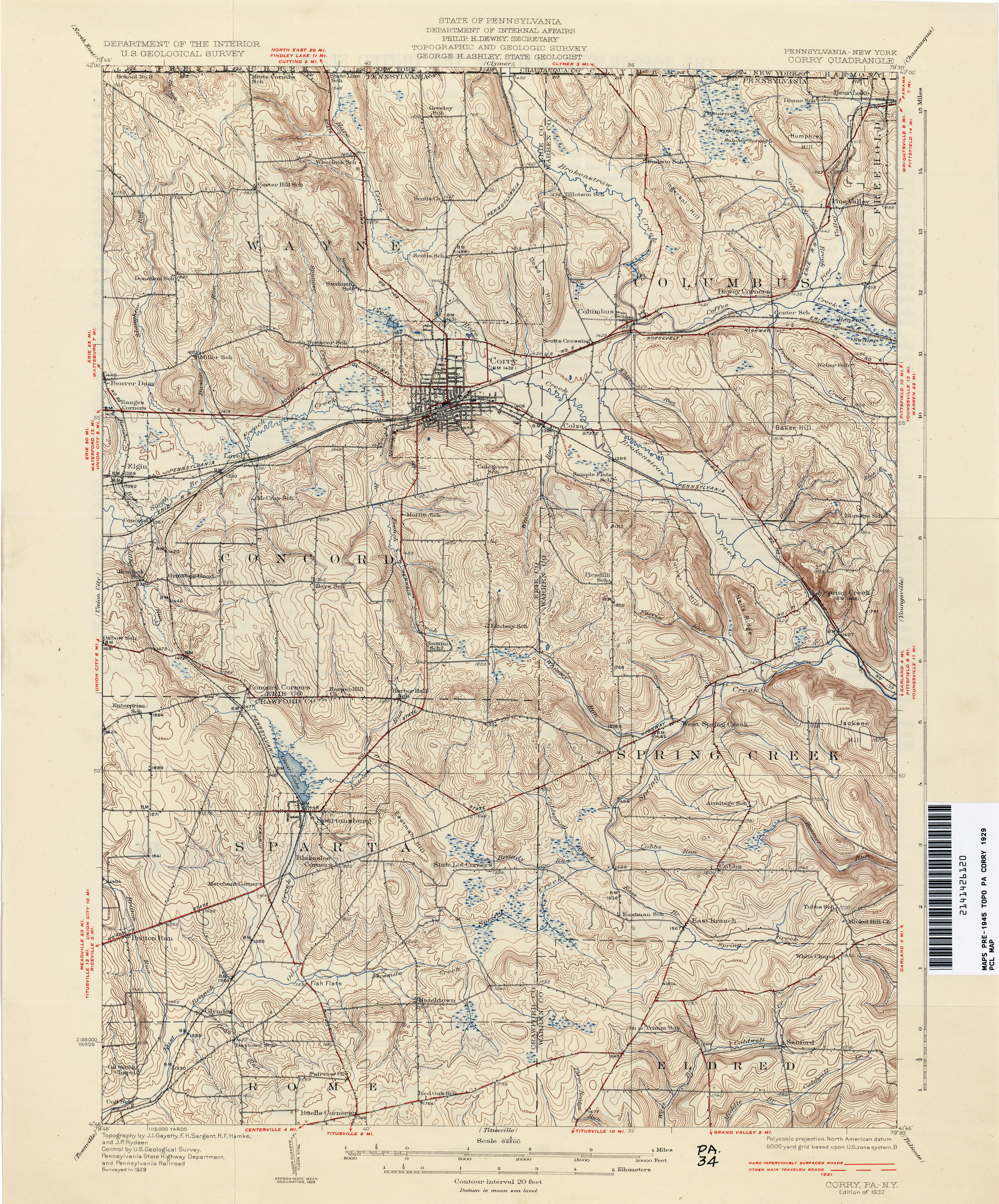Pennsylvania historical topographic maps perry castaeda map pennsylvania historical topographic maps publicscrutiny Images