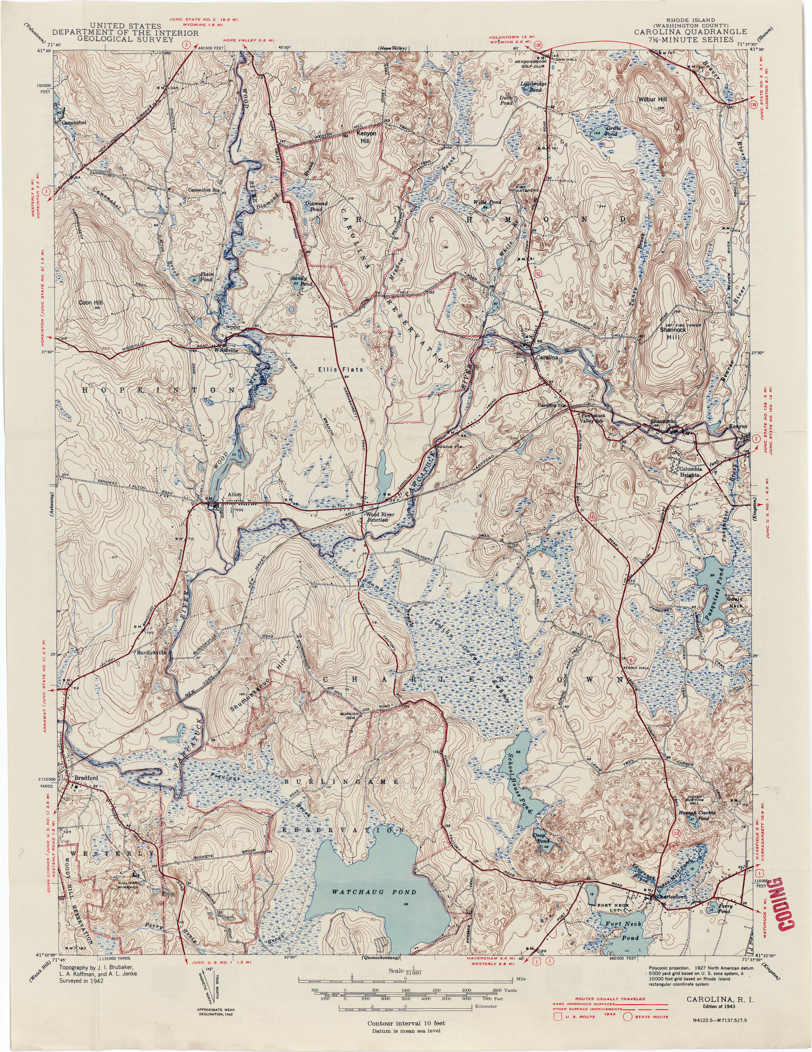Topographic Map Rhode Island.Rhode Island Historical Topographic Maps Perry Castaneda Map