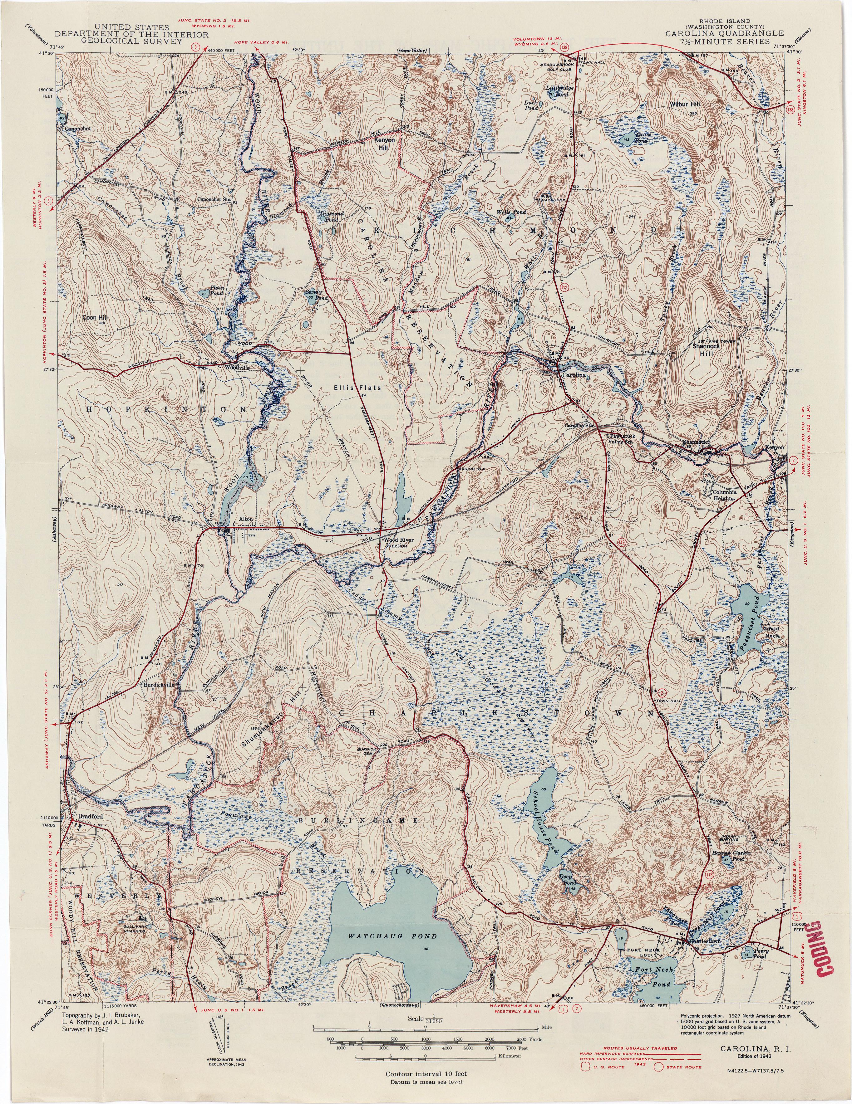 Maps Block Island Ri
