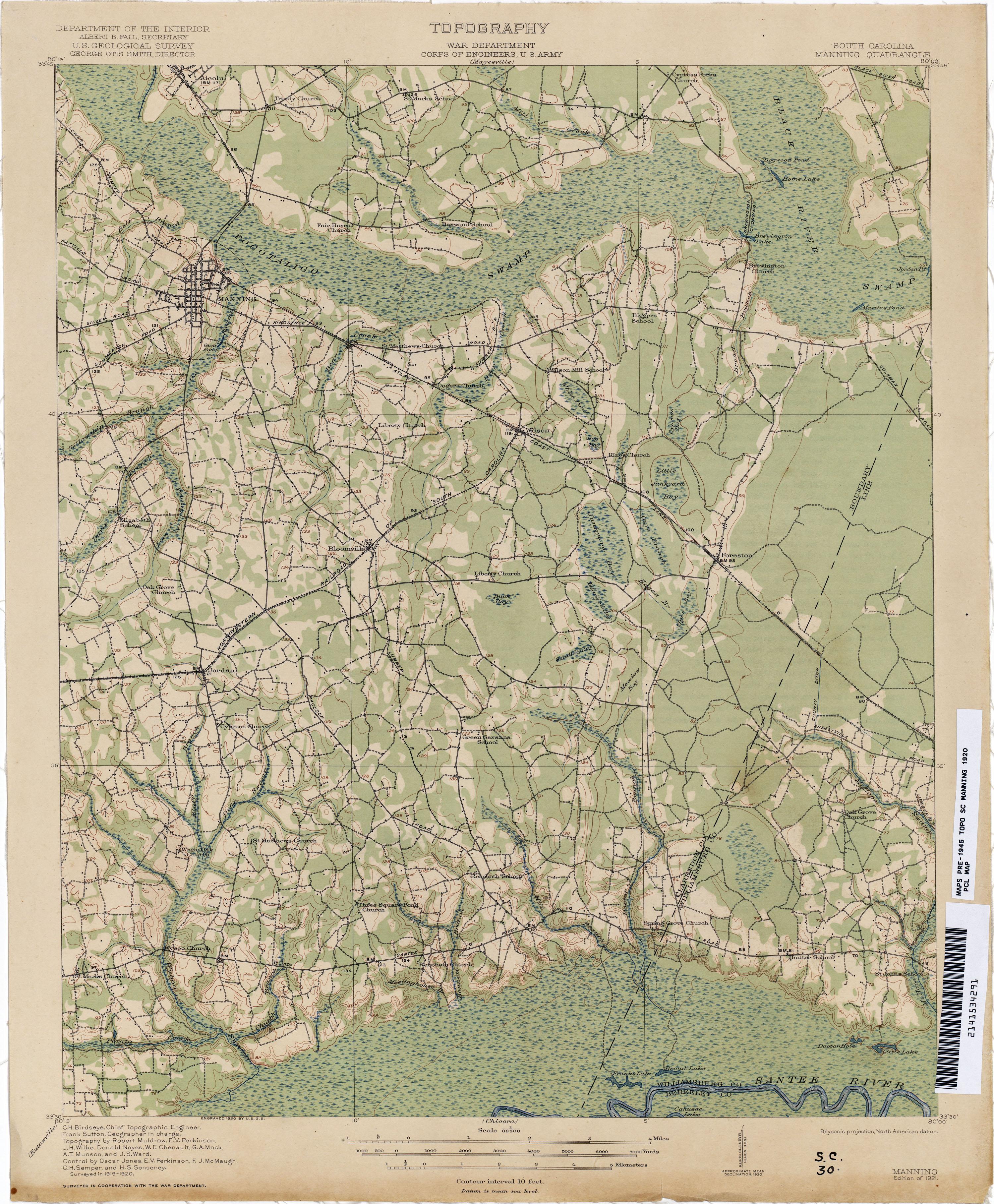 South Carolina Historical Topographic Maps PerryCastañeda Map - China historical map 1890 1907