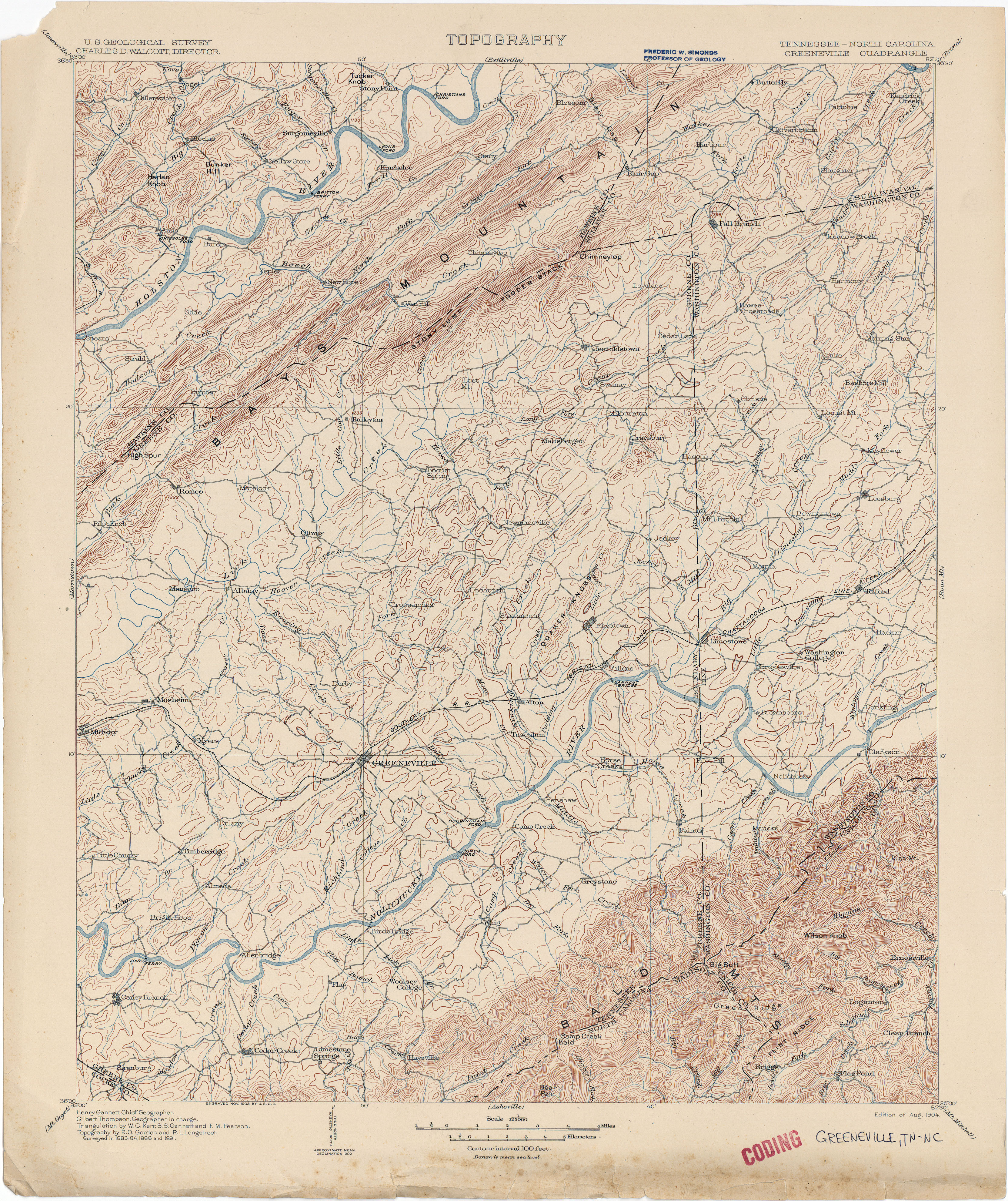 Asheville Elevation Map.North Carolina Historical Topographic Maps Perry Castaneda Map