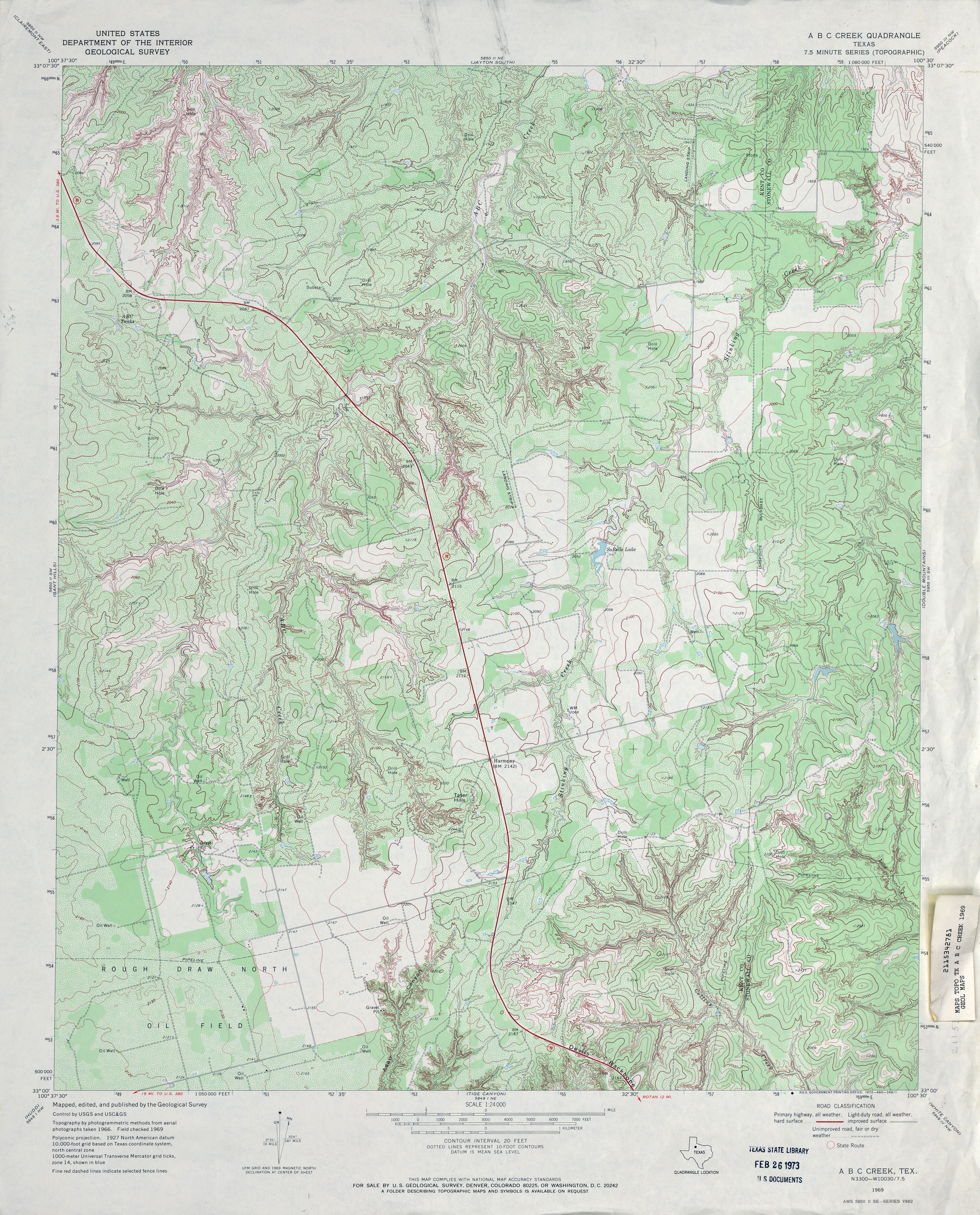 Texas Topographic Maps Perry Castaneda Map Collection Ut