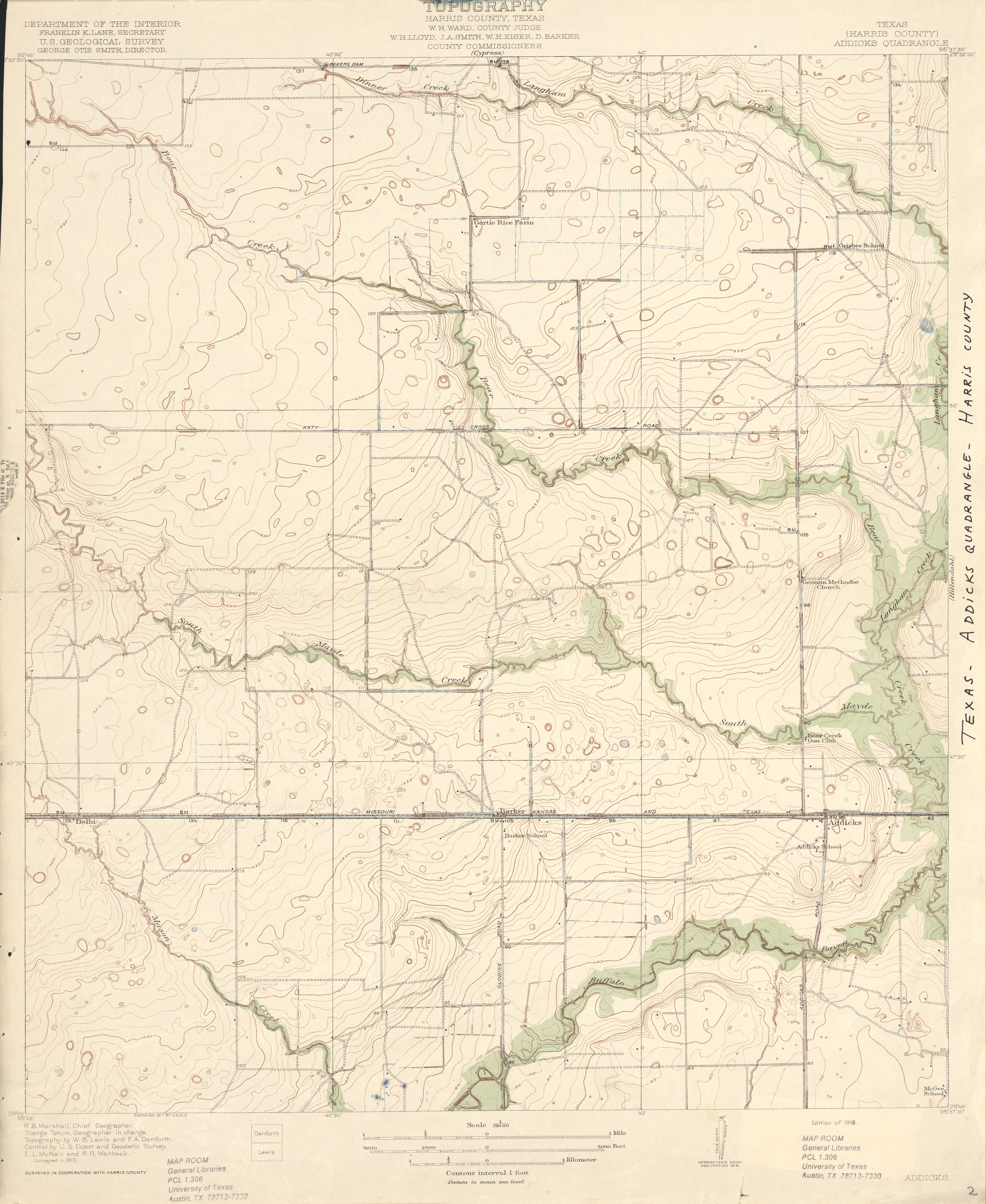 Map Of Texas 1915.Texas Topographic Maps Perry Castaneda Map Collection Ut