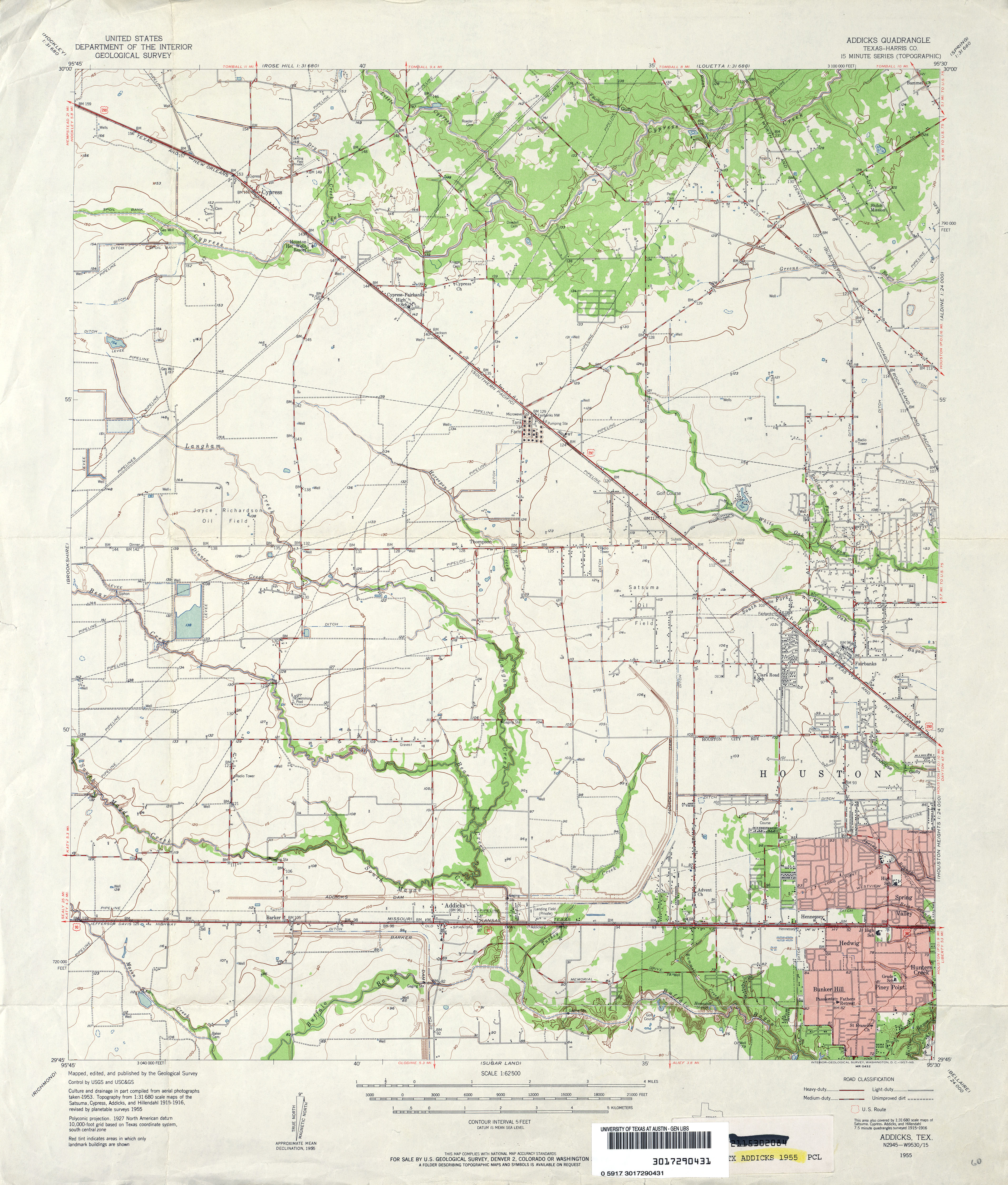 Texas Topographic Maps PerryCastañeda Map Collection UT - Texas road map with counties