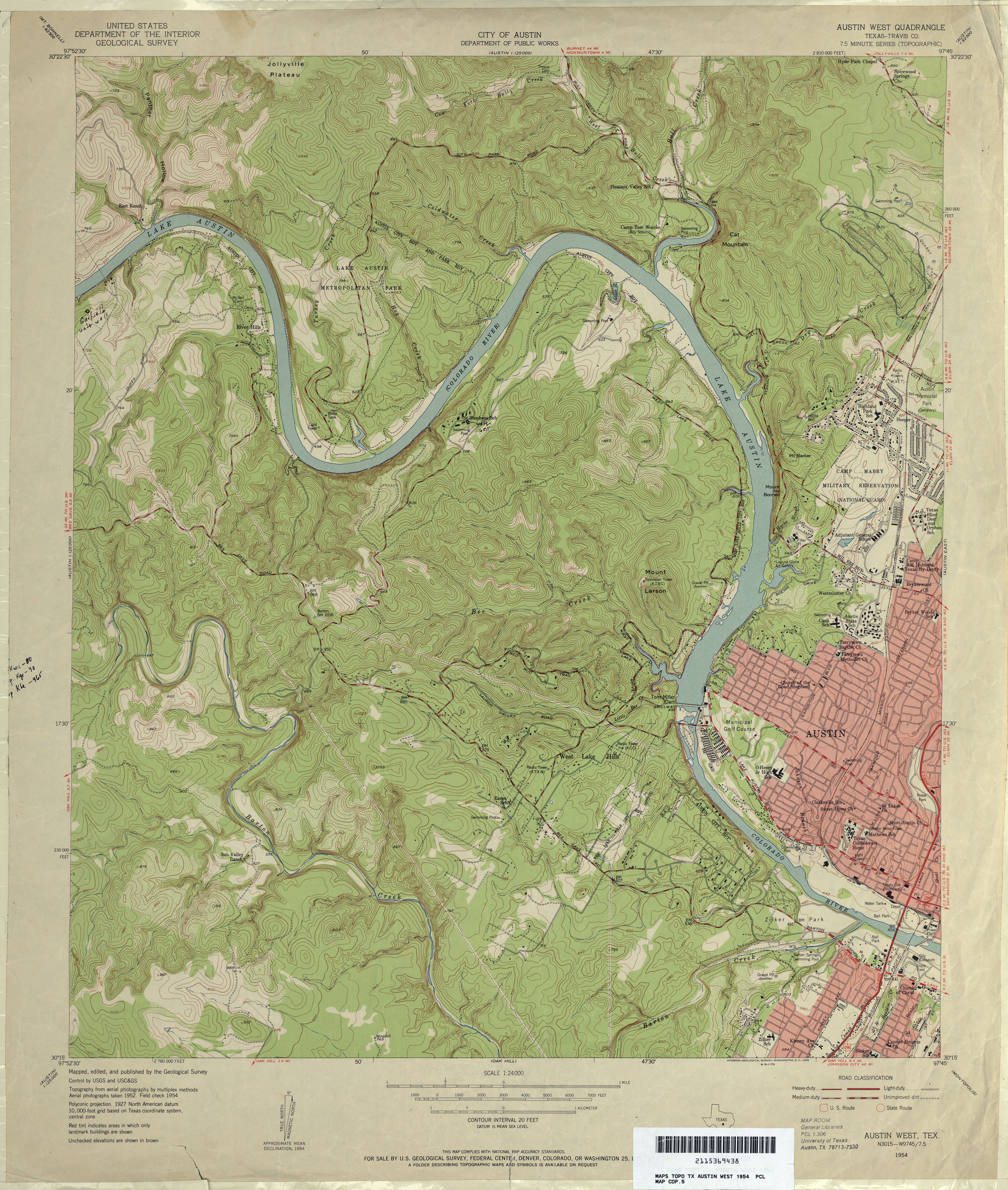 Austin Texas Topographic Maps Perrycastaneda Map Collection North America Relief Map