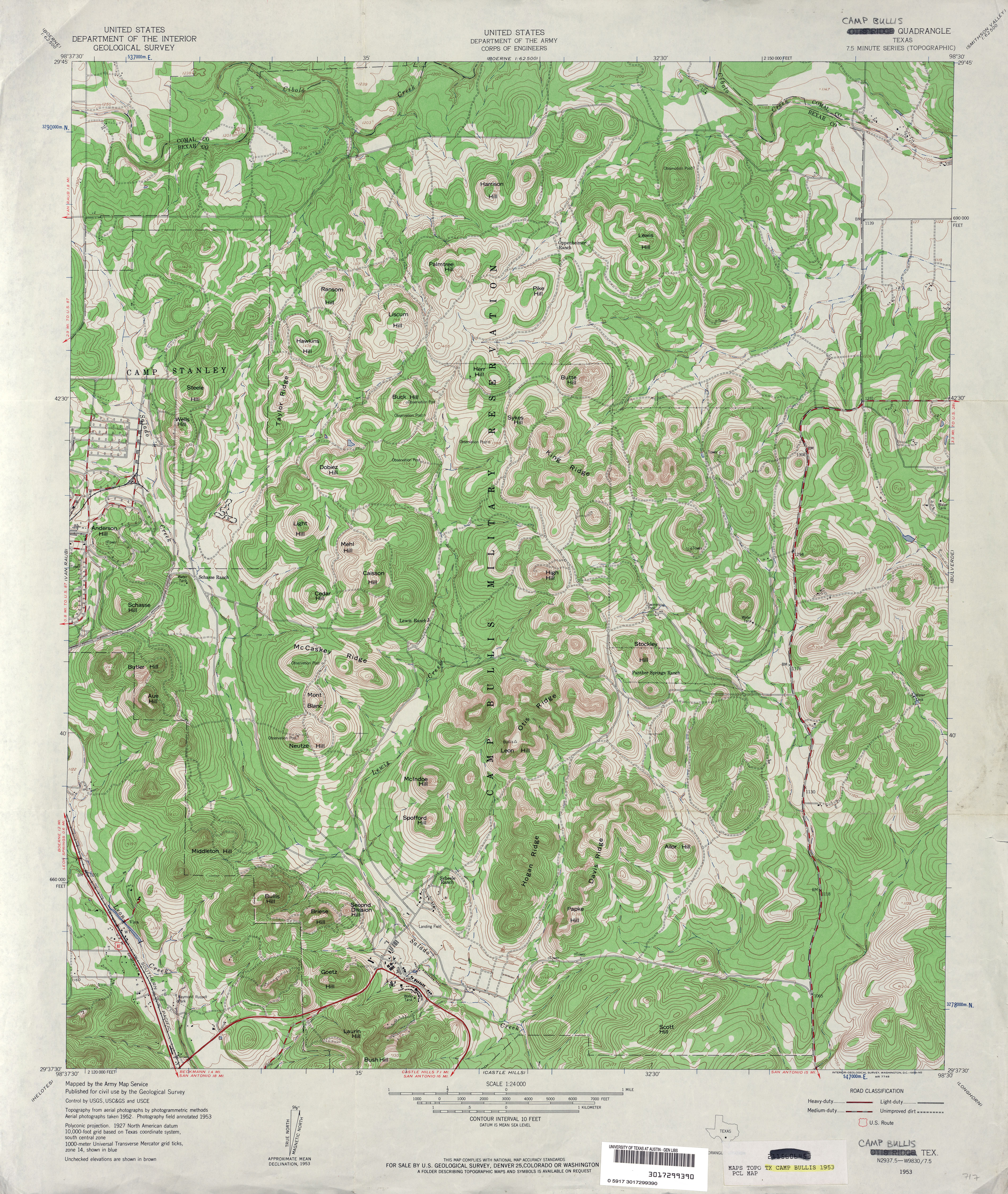 Texas Topographic Maps - Perry-Castañeda Map Collection - UT Liry on