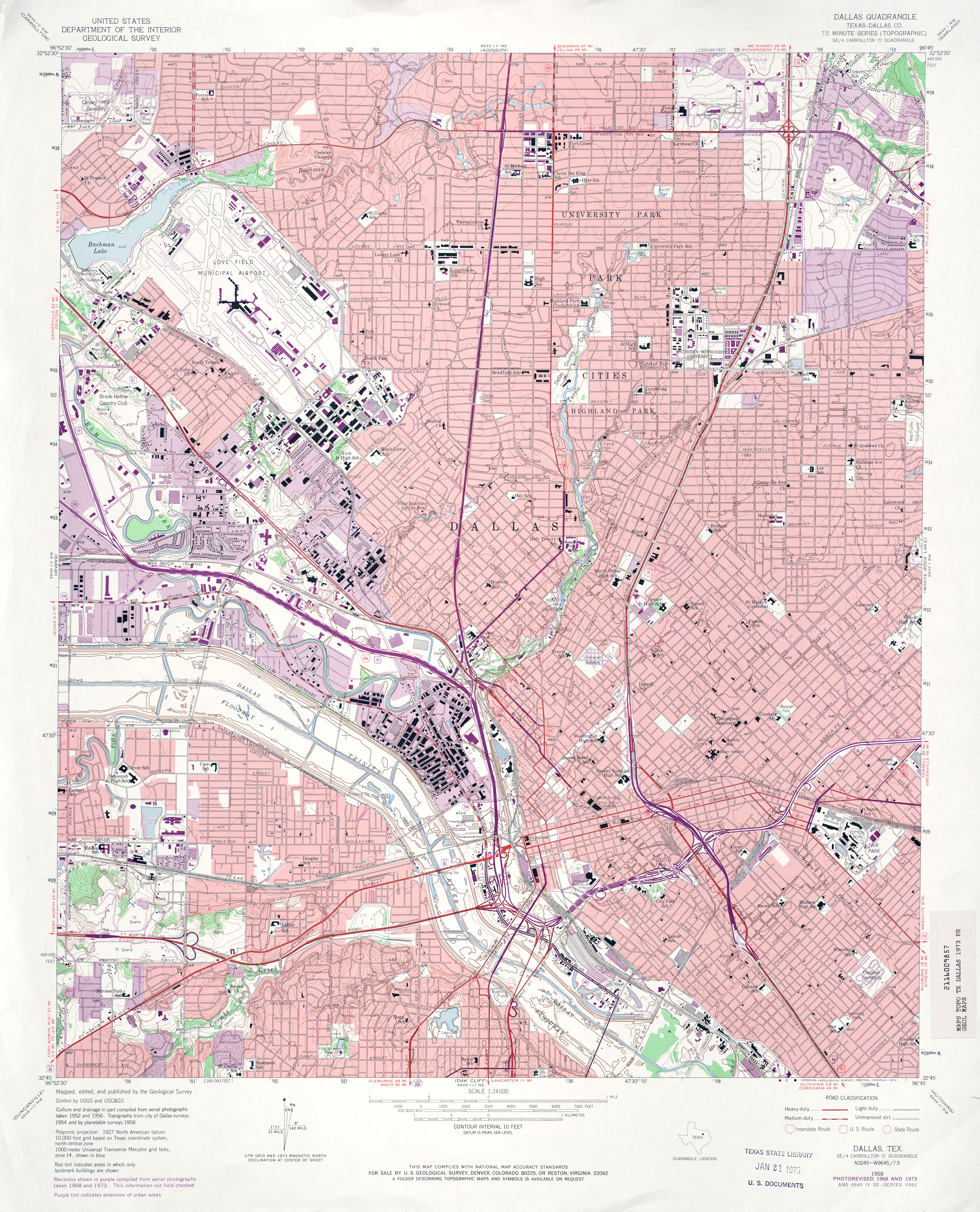 Texas Topographic Maps PerryCastañeda Map Collection UT - Dallas tx on us map