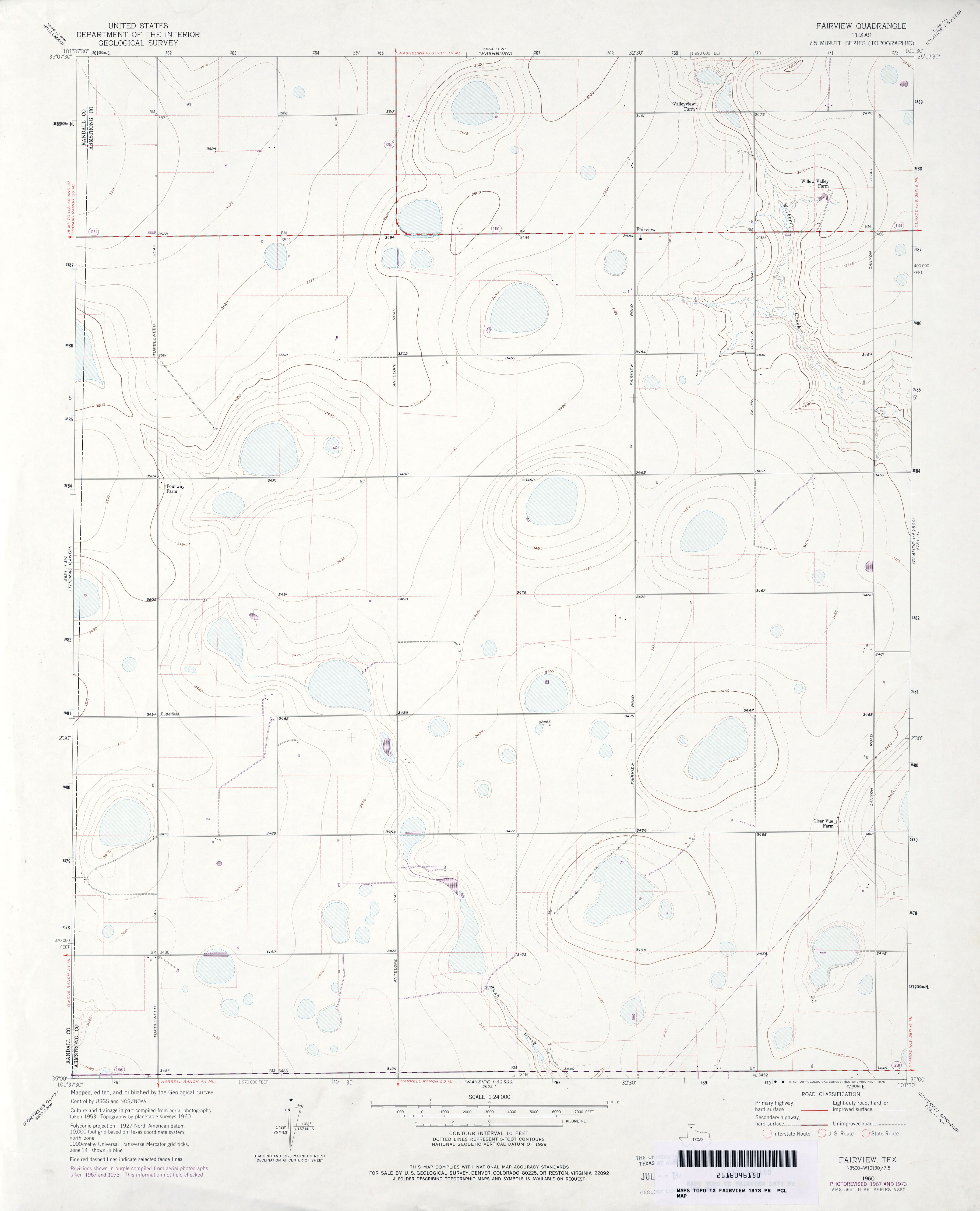 Texas Topographic Maps Perry Castaeda Map Collection Ut Library
