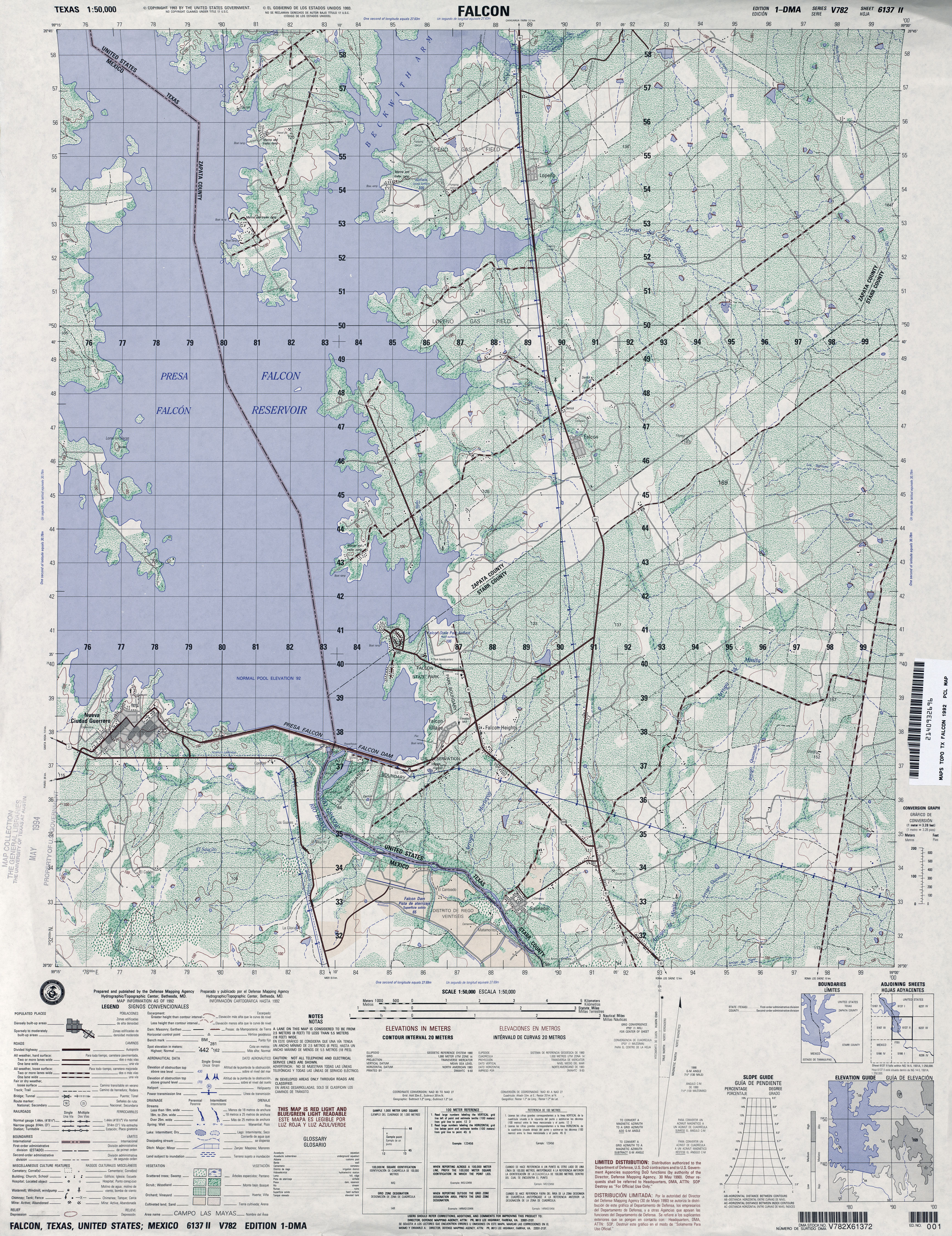 tactical map falcon 1 50 000 1992 5 5mb u s defense mapping agency series v782