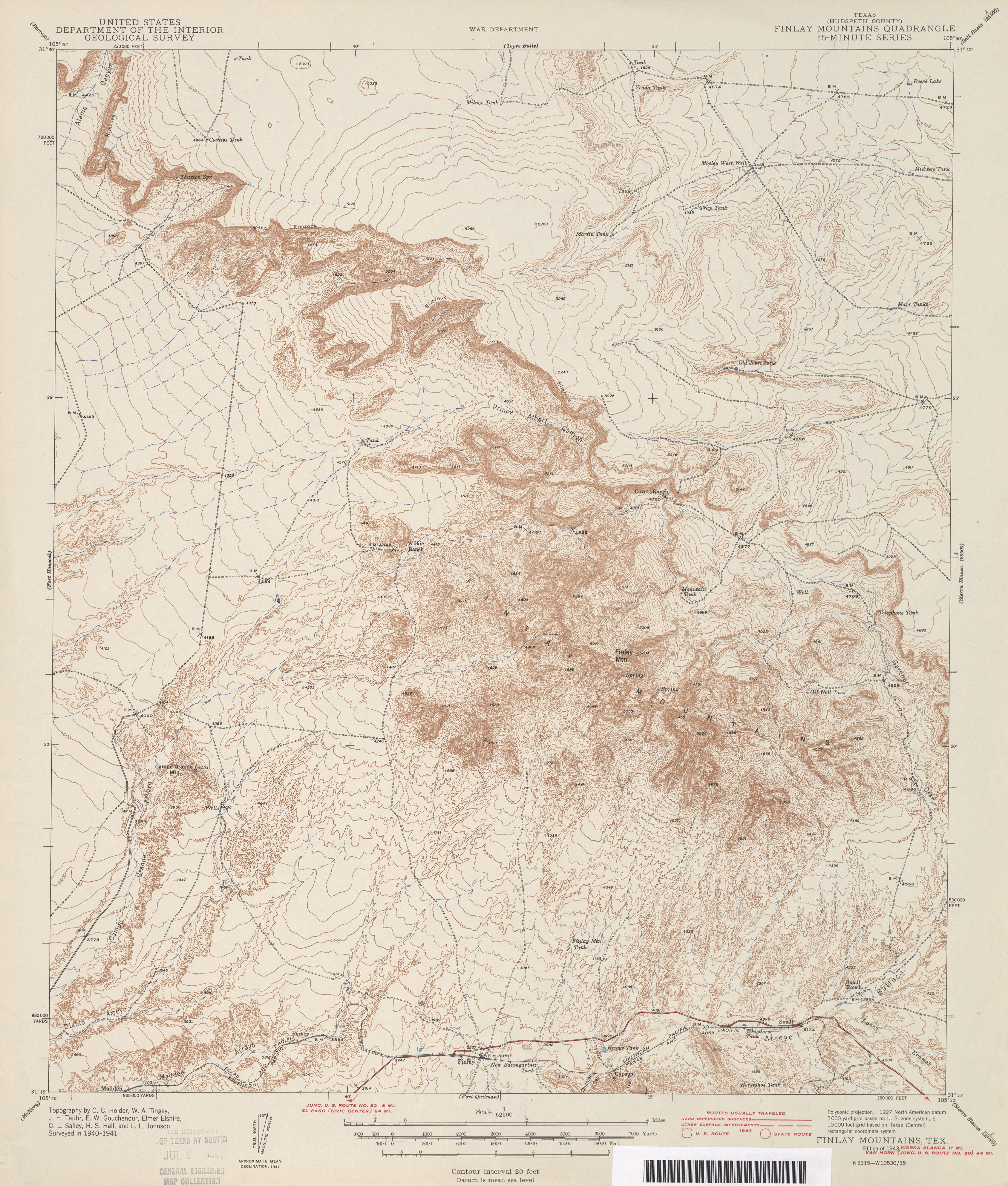 Freer Texas Map%0A                   survey       overprint      MB