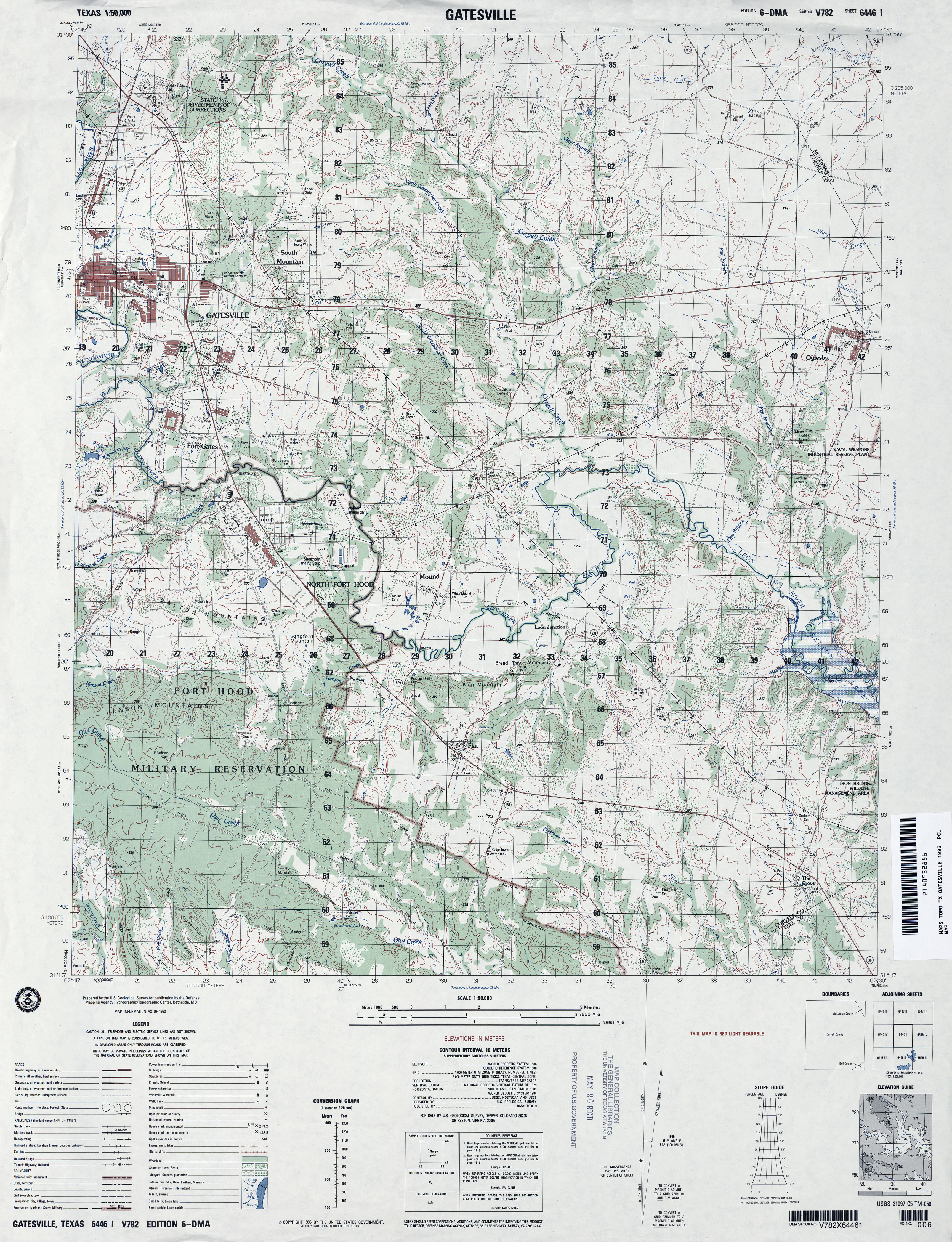 Texas Topographic Maps PerryCastañeda Map Collection UT Library - Military topographic maps
