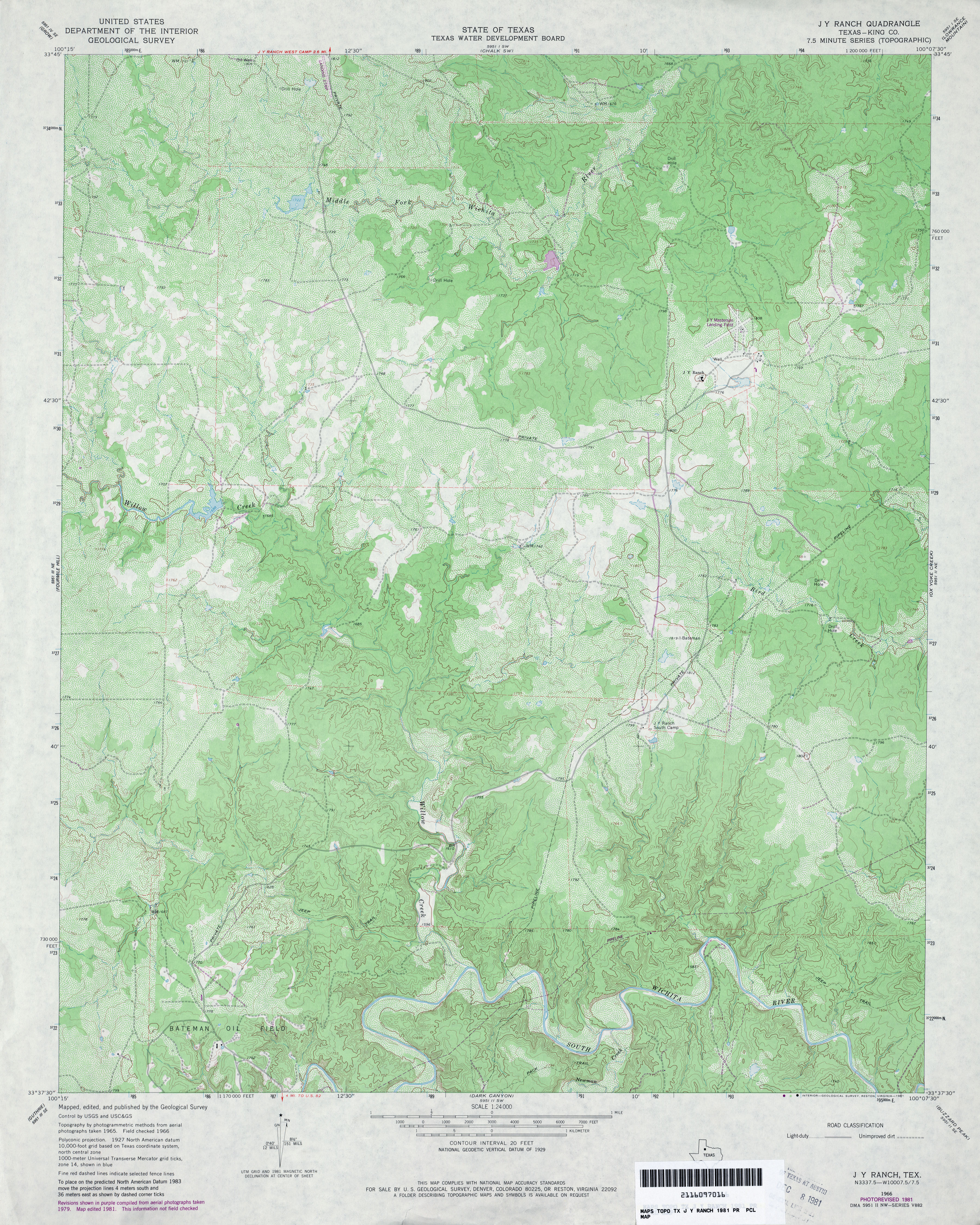 King County Topographic Map.Texas Topographic Maps Perry Castaneda Map Collection Ut Library