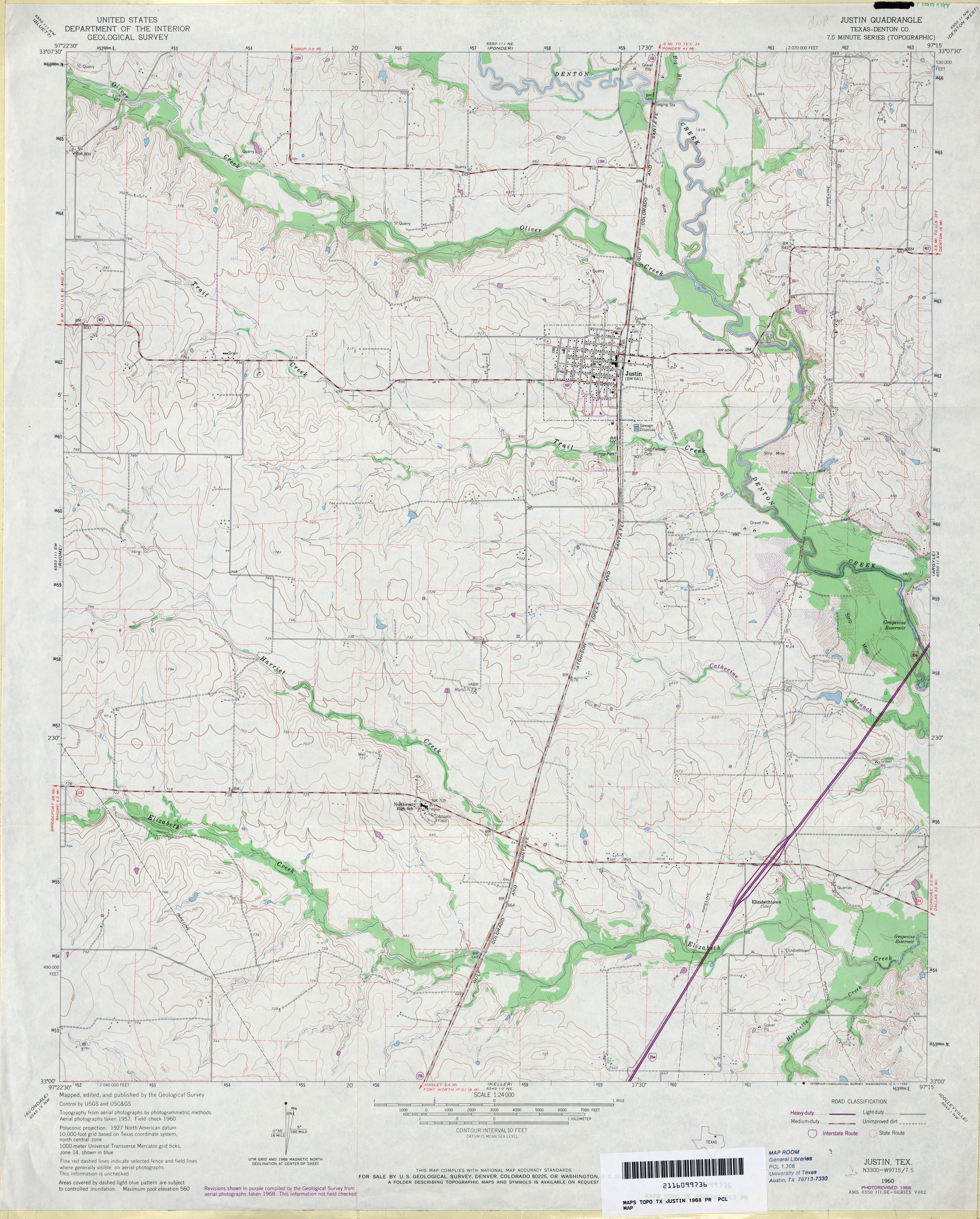 Texas Topographic Maps  PerryCastaeda Map Collection