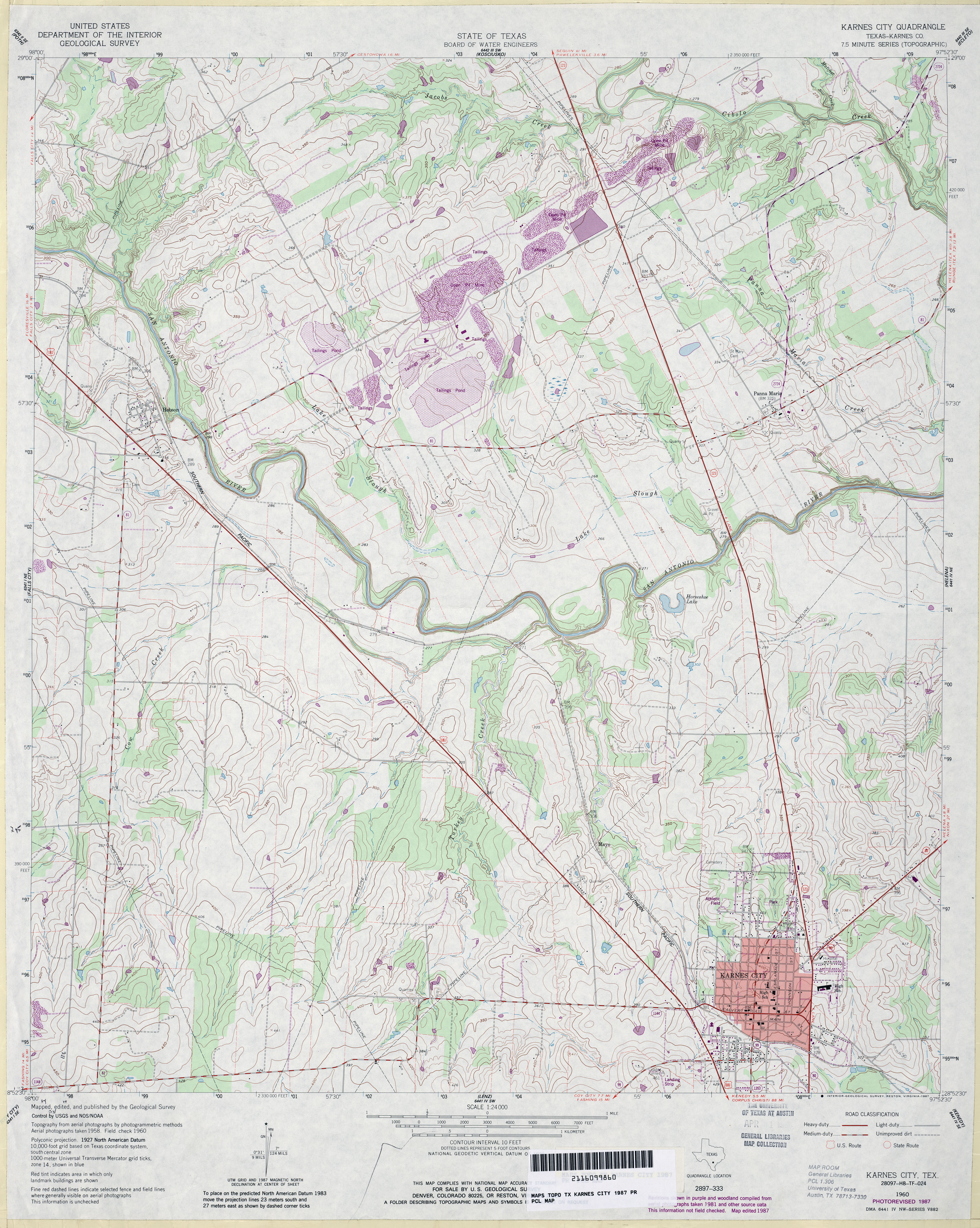 Texas Topographic Maps - Perry-Castañeda Map Collection - UT ... on map of dimmit county texas, cities in karnes county texas, political map of texas,