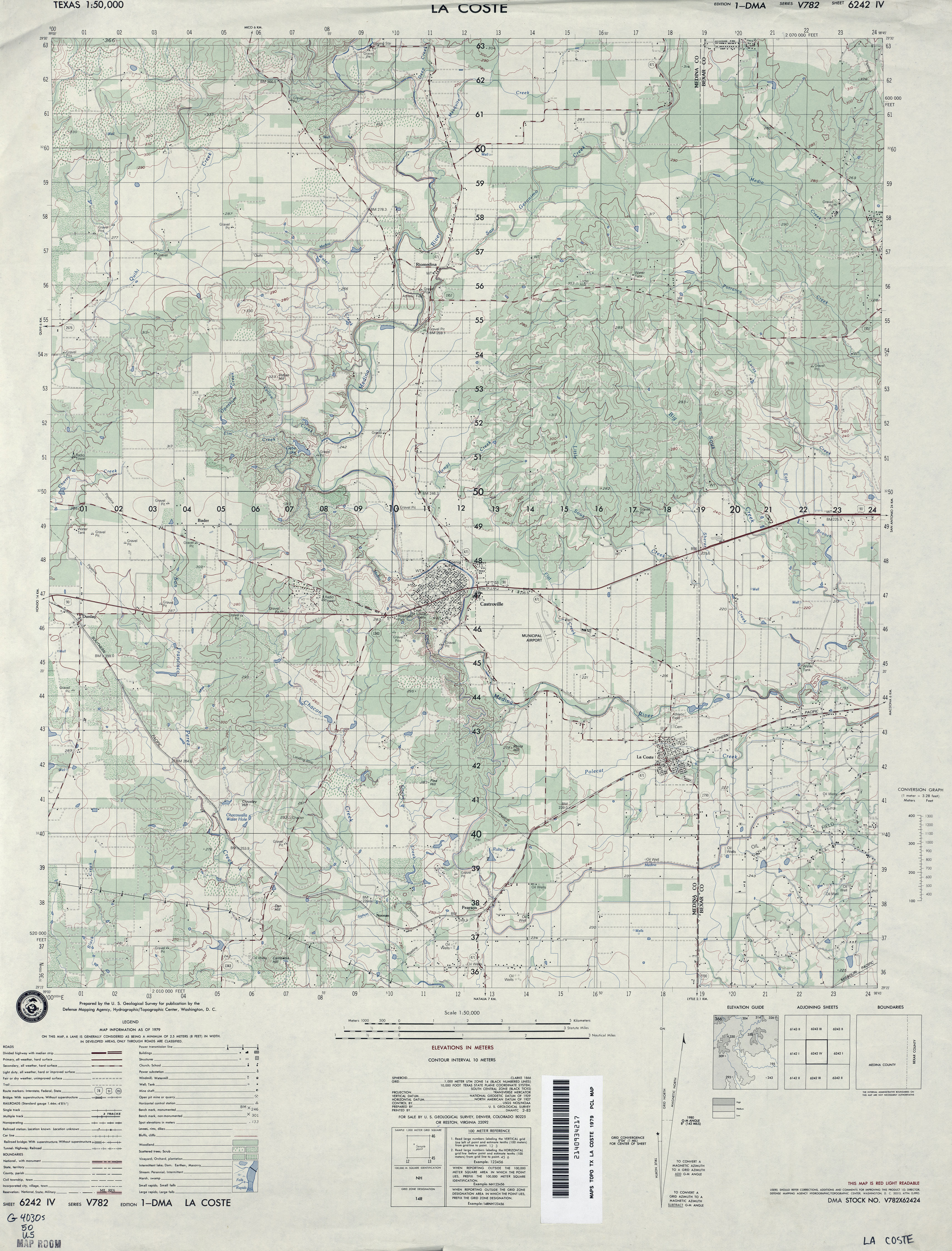 1979 39MB US Defense Mapping Agency