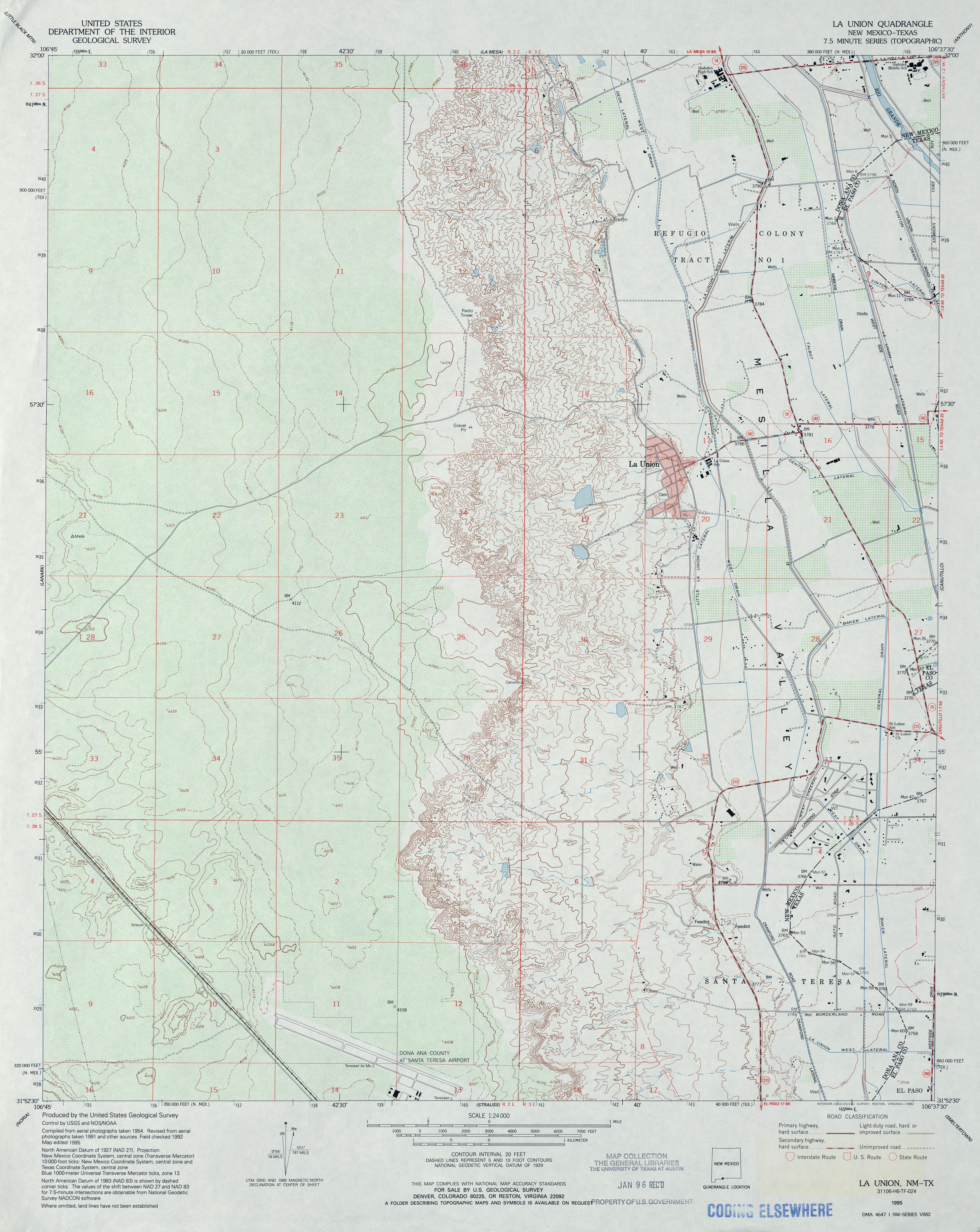 Texas Topographic Maps PerryCastañeda Map Collection UT - Us geodetic survey maps