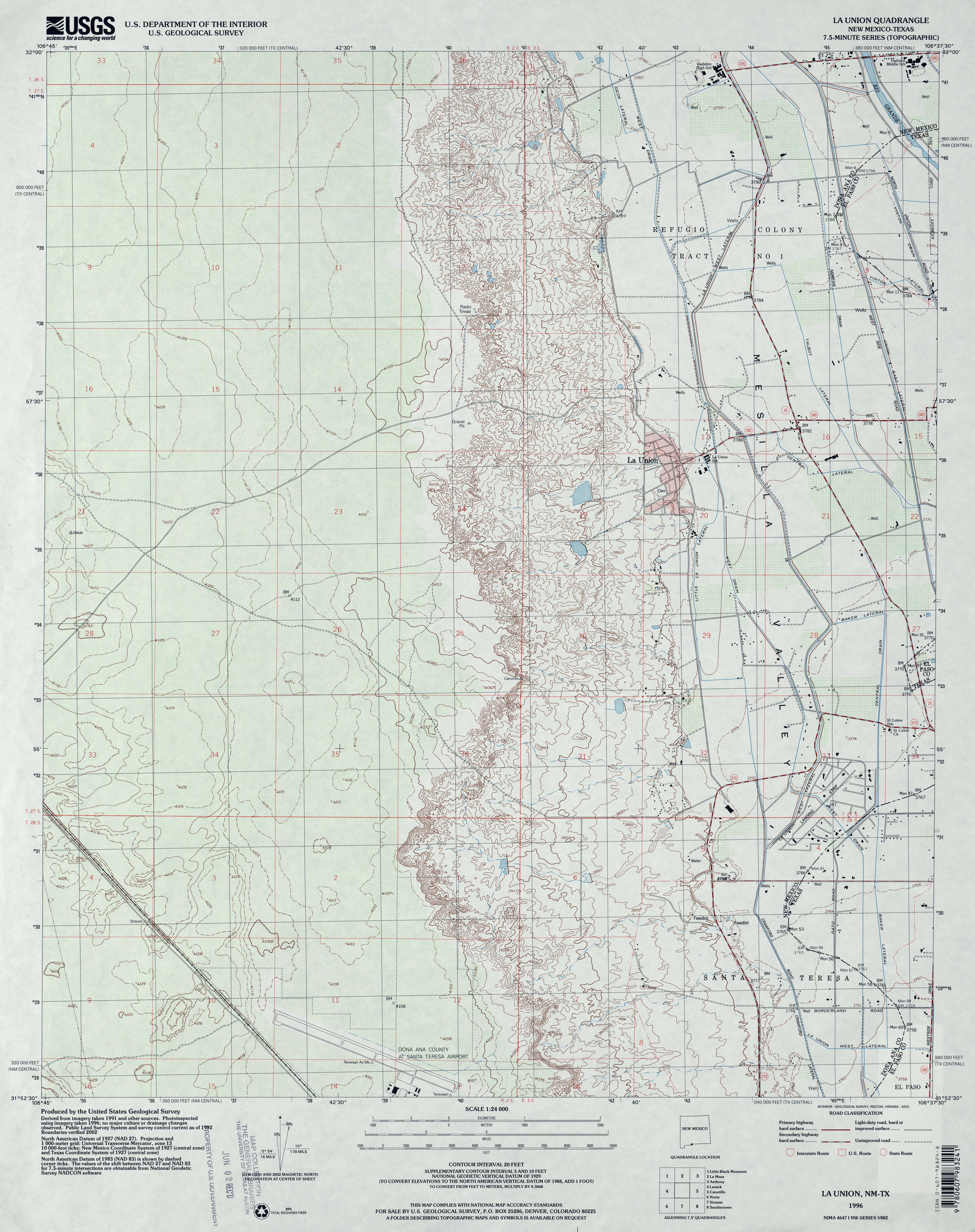 Topographic Us Map With Elevation Of - Texas topographic maps free
