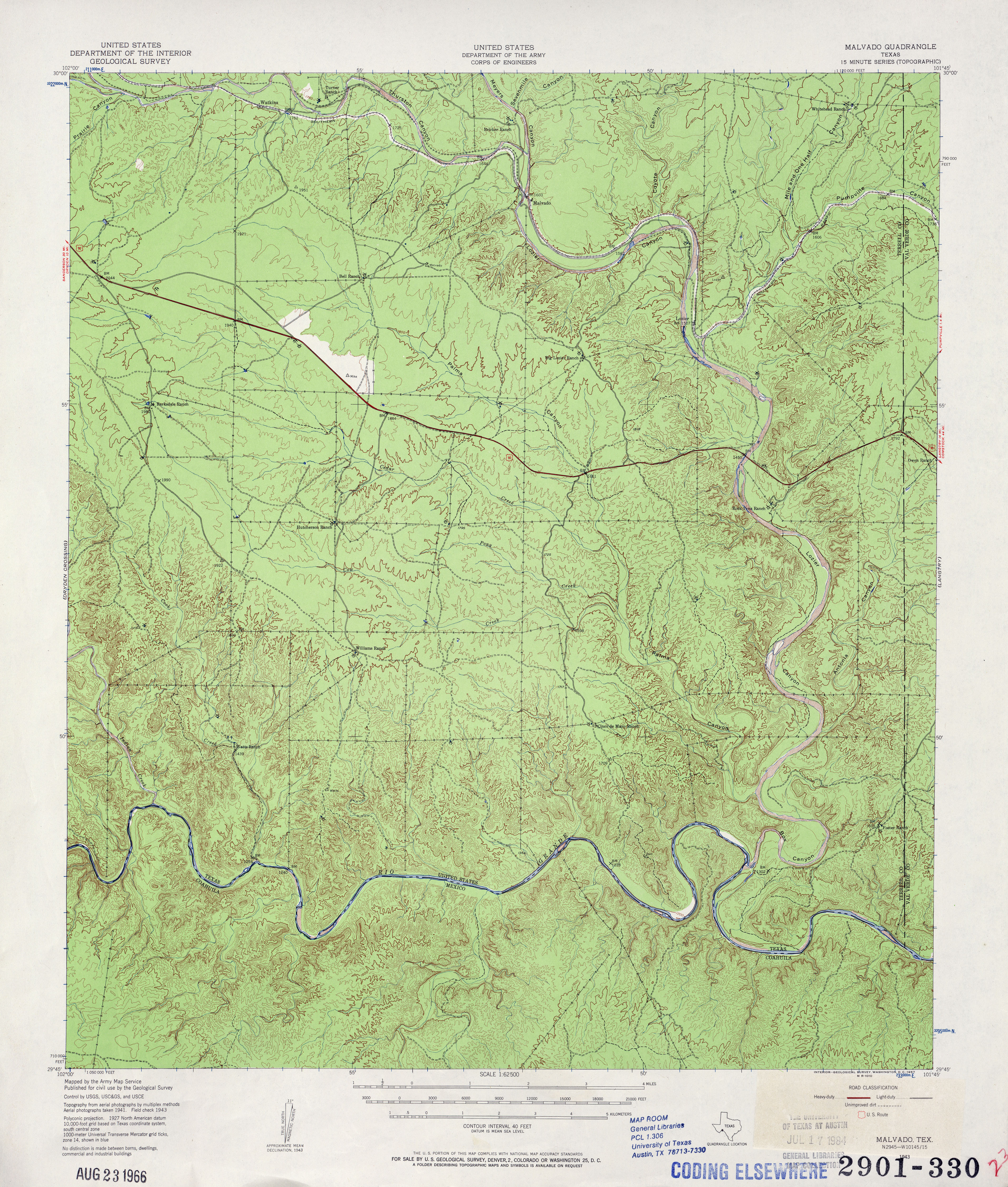 Texas Topographic Maps PerryCastañeda Map Collection UT - Us topo maps pro user guide