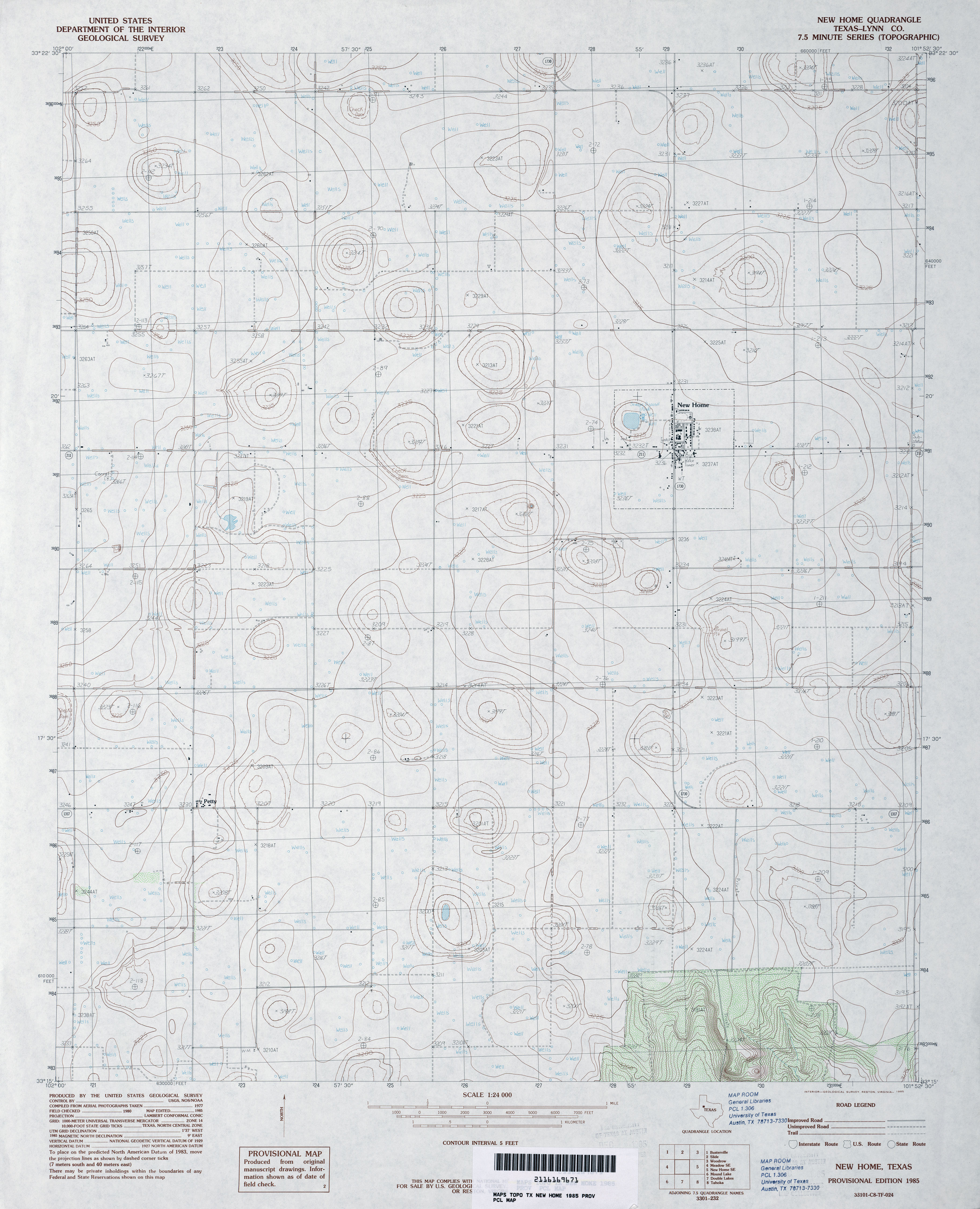 Texas Topographic Maps - Perry-Castañeda Map Collection - UT Library