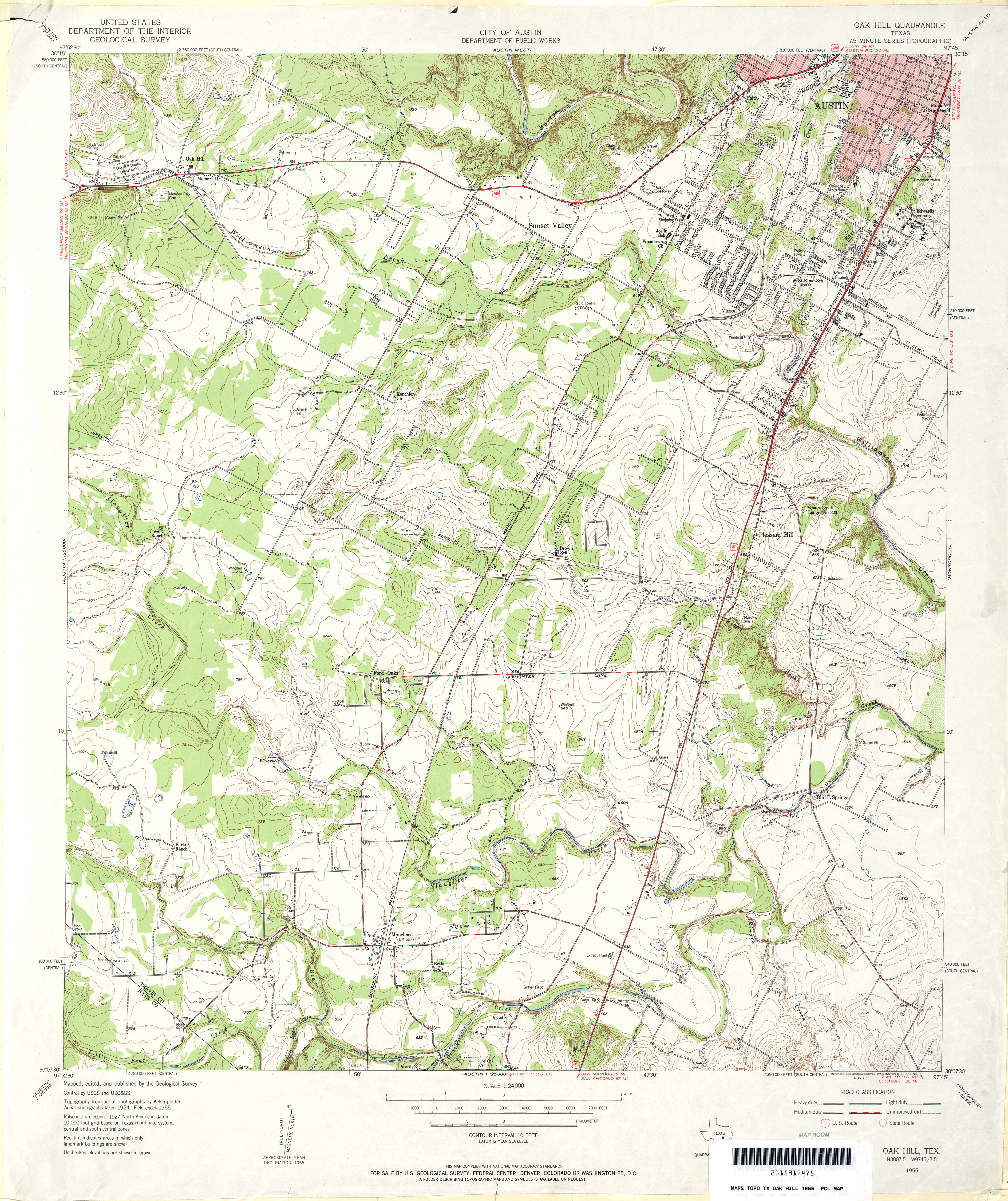 texas topographic maps perry castañeda map collection ut texas topographic maps
