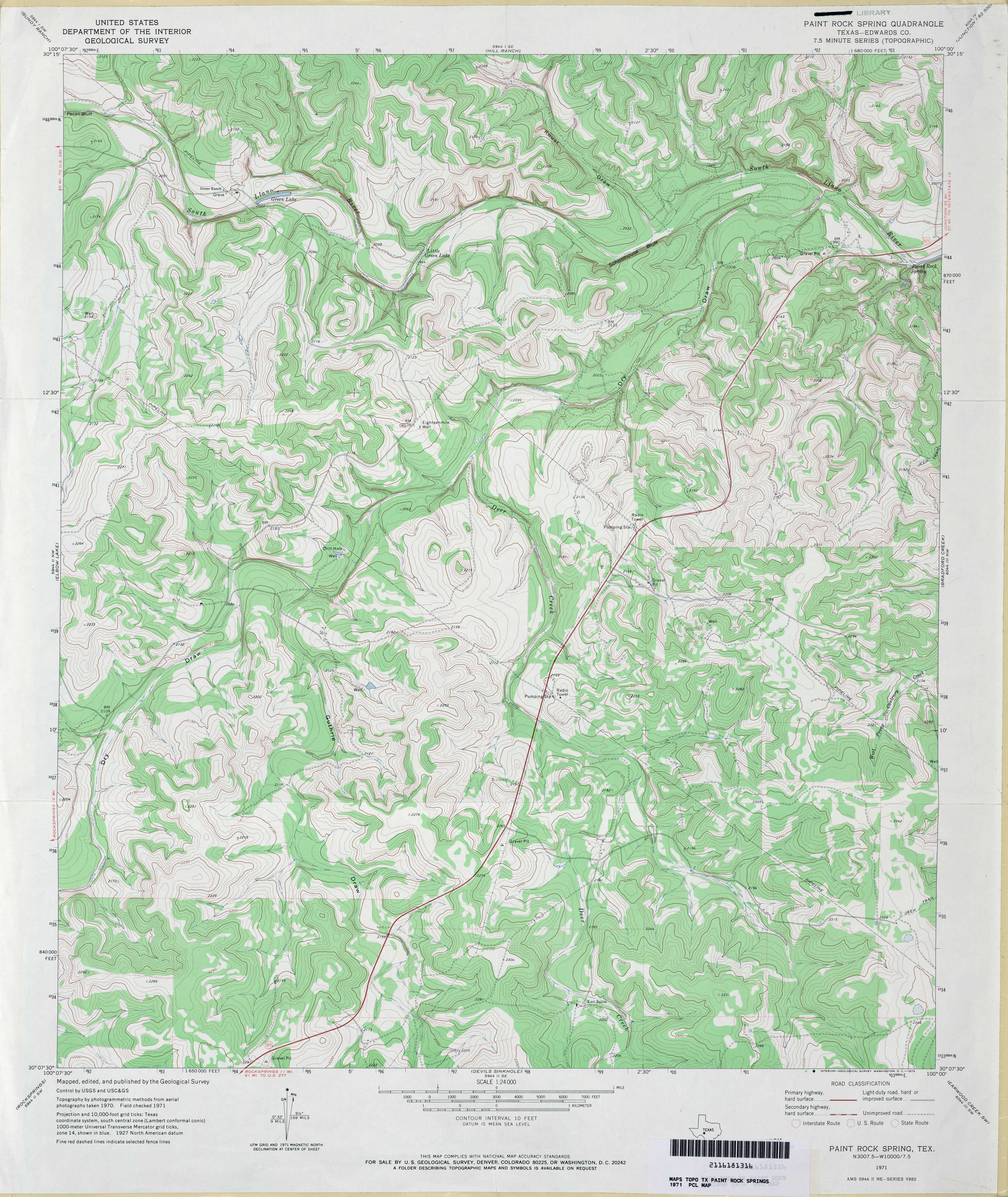 Texas Topographic Maps PerryCastañeda Map Collection UT - Topographical map of texas